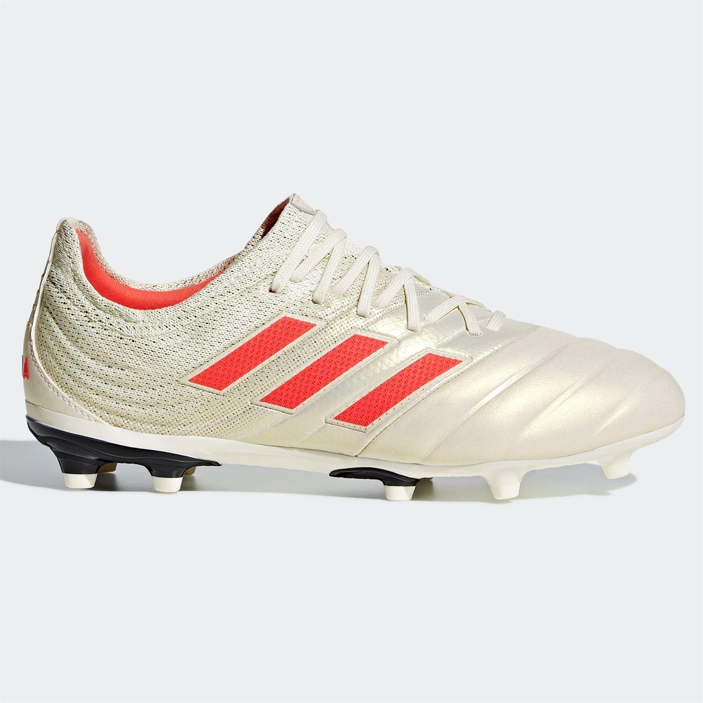 adidas Copa 19.1 FG Firm Ground Football Boots Juniors White
