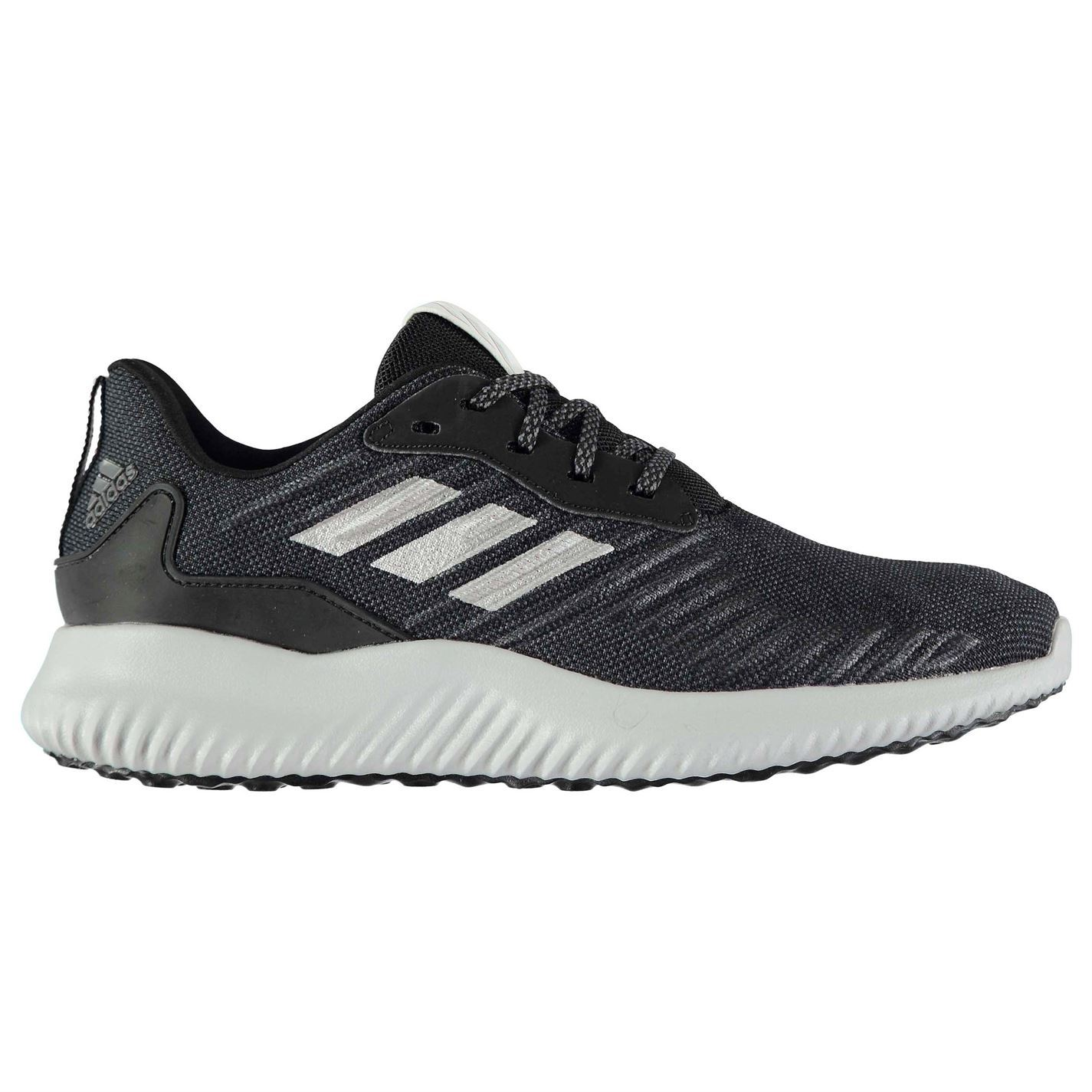 30e36e8fc65b3 ... adidas AlphaBounce Running Shoes Womens Black Silver Jogging Trainers  Sneakers ...