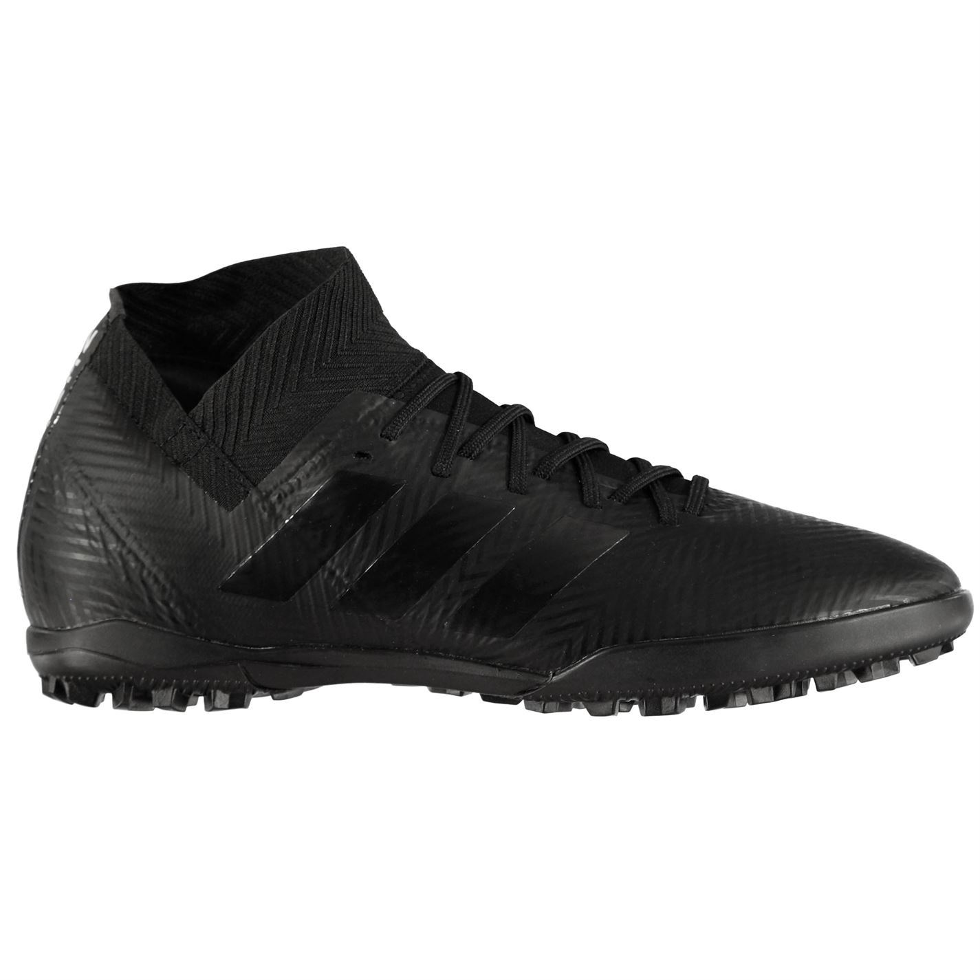 f5903632d ... adidas Nemeziz Tango 18.3 Astro Turf Football Trainers Mens Black  Soccer Shoes ...