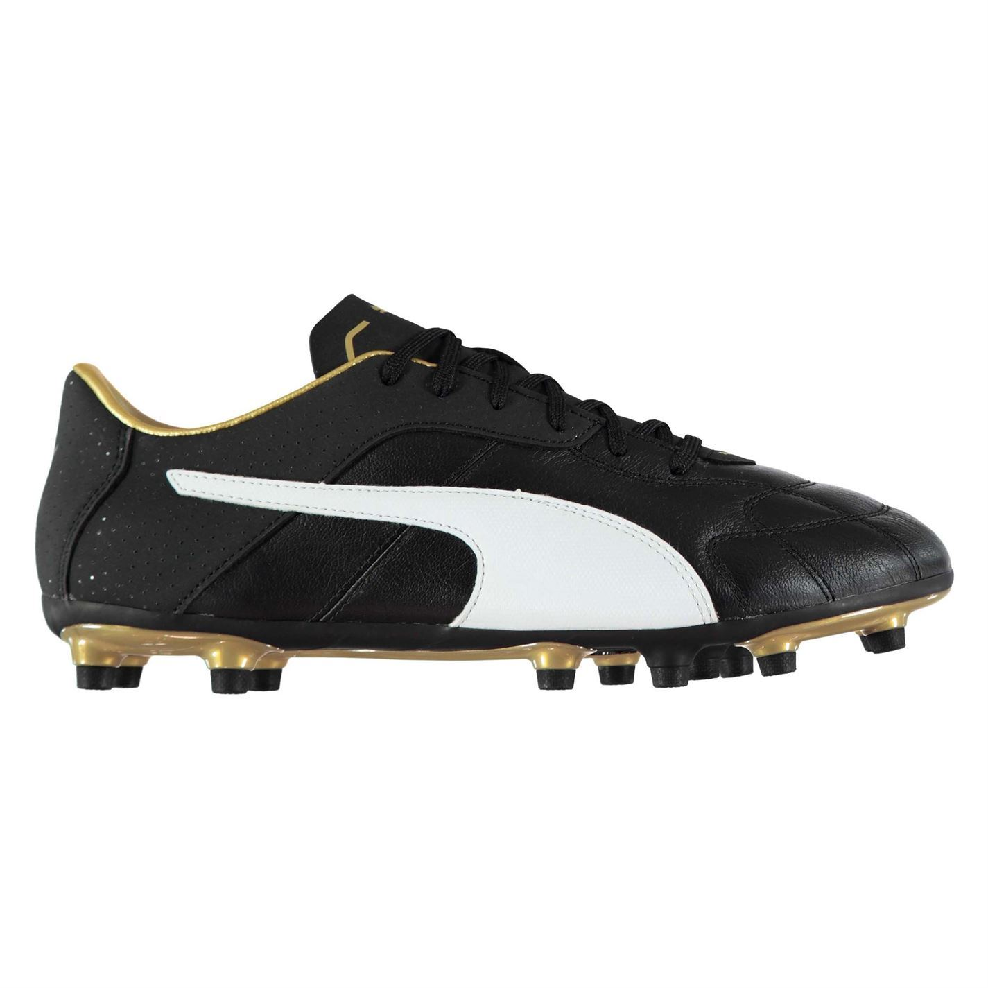 Details about Puma Esito C FG Firm Ground Football Boots Mens Black Soccer Shoes Cleats