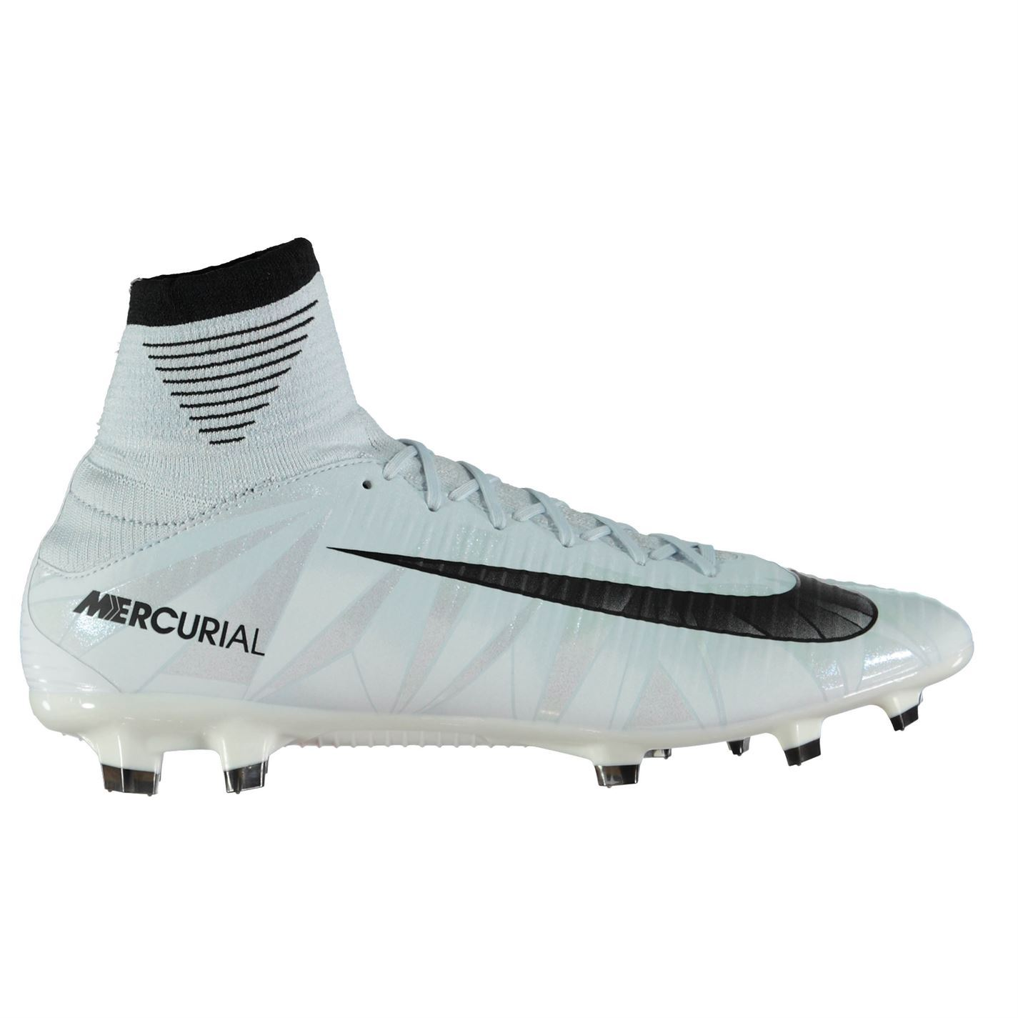 d21602cf3d2a ... Nike Mercurial Veloce CR7 DF FG FG Football Boots Mens Blue Soccer Shoes  Cleats ...