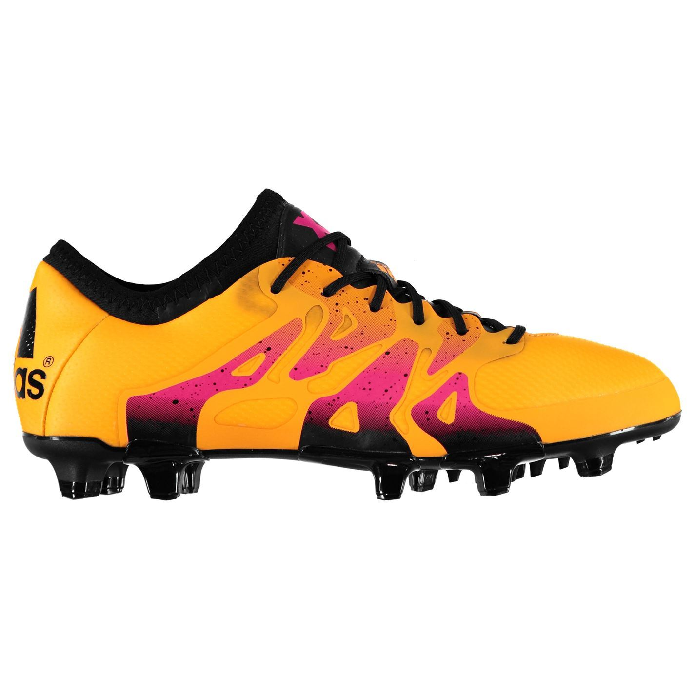 ef5352c33 adidas X 15.1 Firm/Artificial Ground Football Boots Mens Gold Soccer Shoe  Cleats