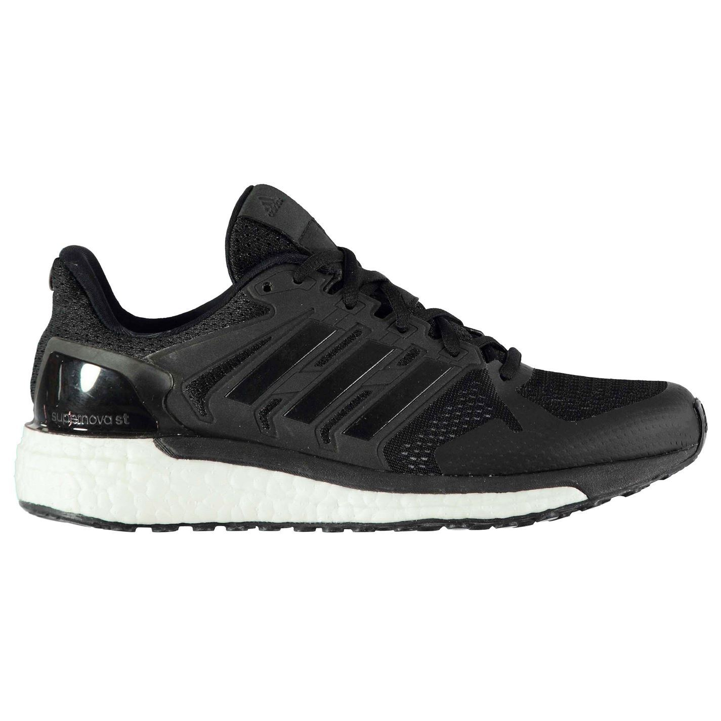 1b8ea1d06 adidas Supernova ST Running Shoes Womens Black White Jogging Trainers  Sneakers