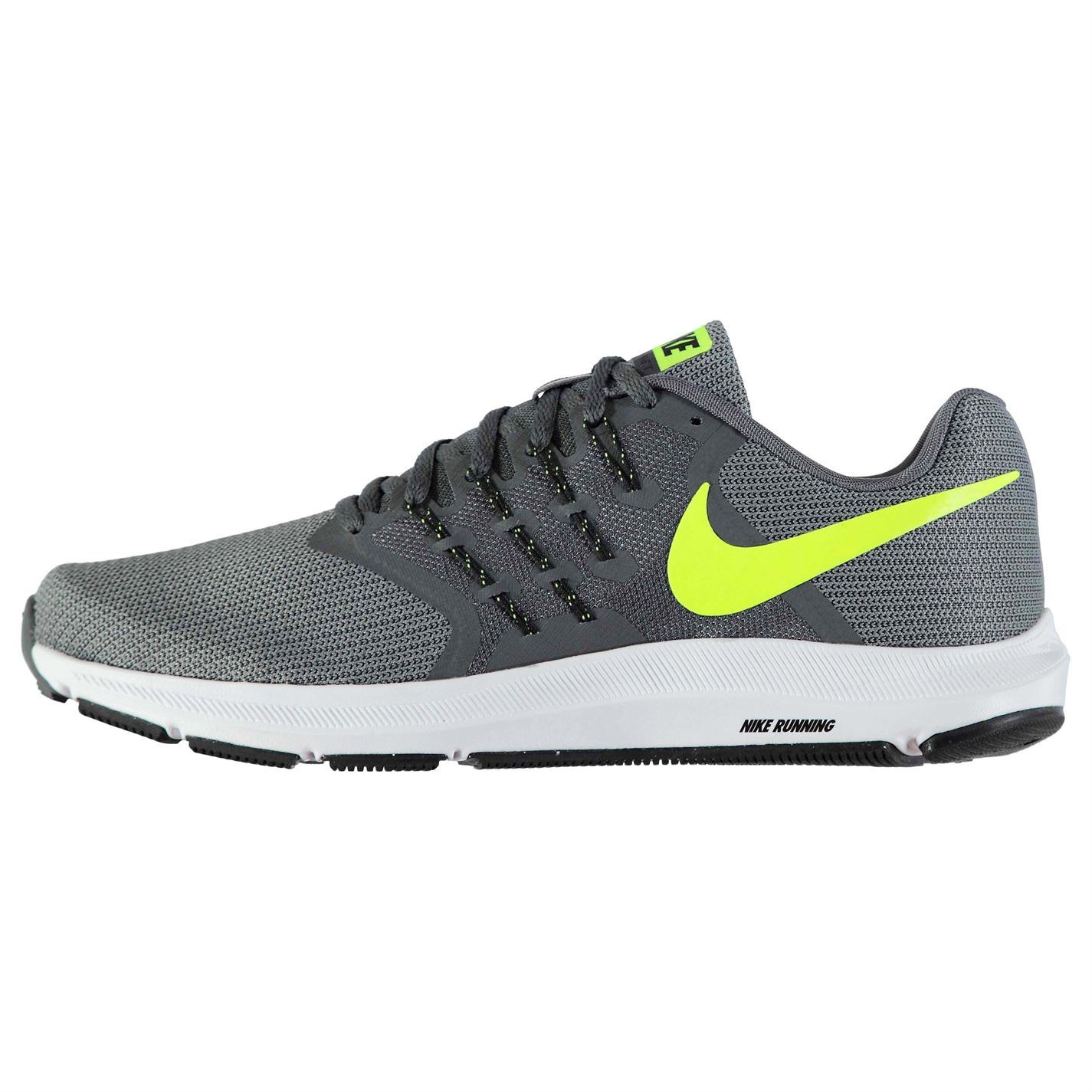 72b0abf4c8c11 ... Nike Run Swift Running Shoes Mens Grey Volt Jogging Trainers Sneakers  ...
