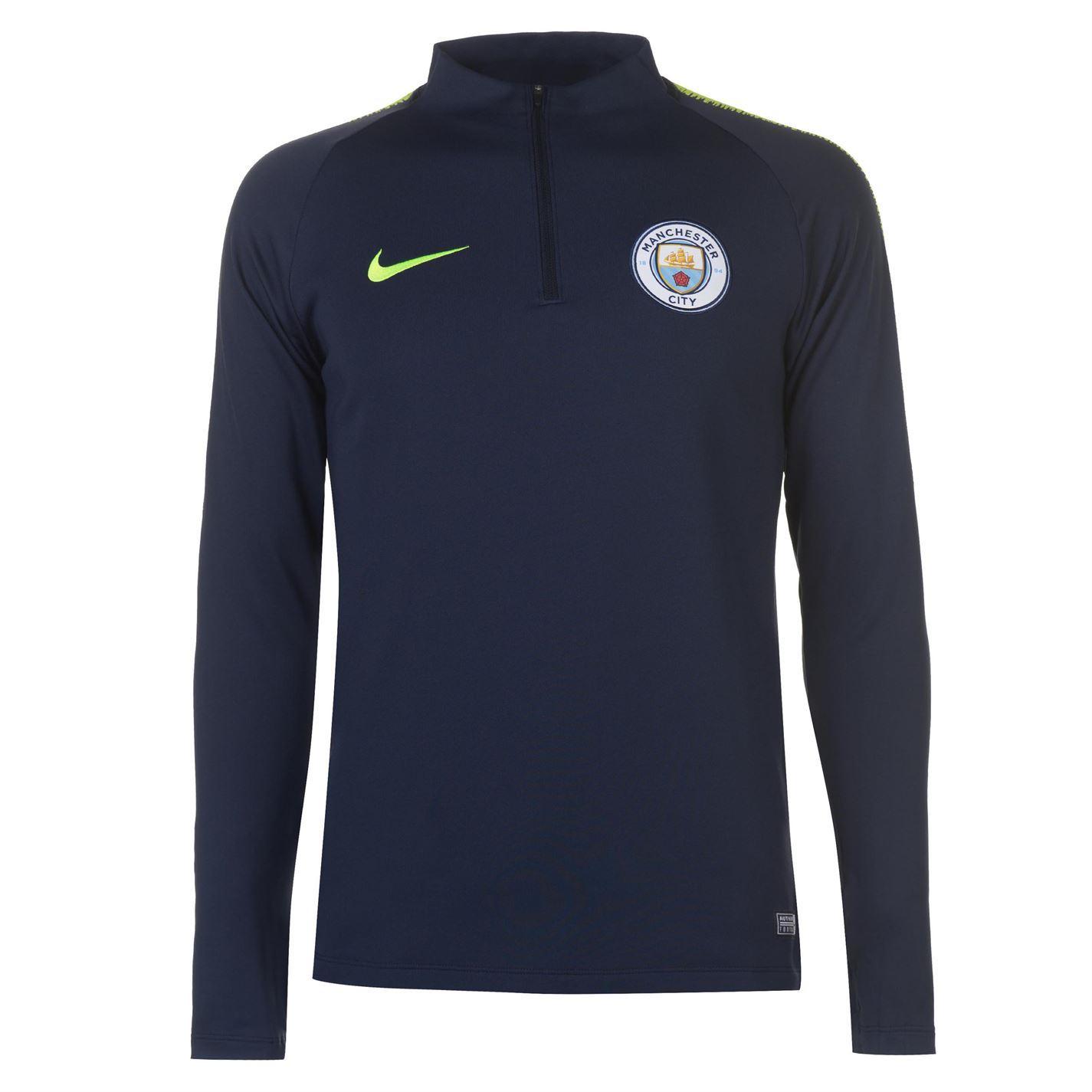efa33c73b ... Nike Manchester City Squad Drill Top 2018 2019 Mens Football Soccer  Sweatshirt
