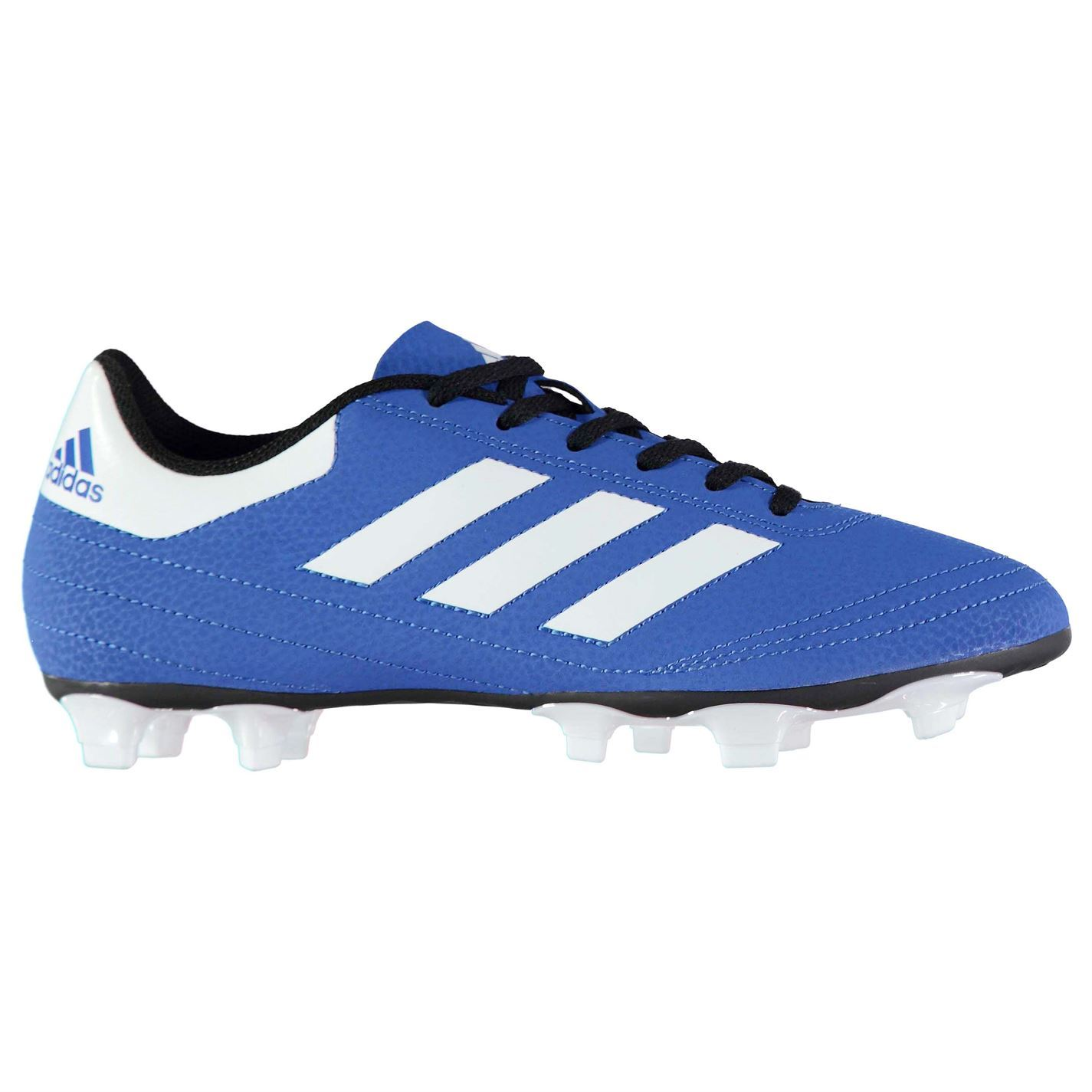... adidas Goletto FG Firm Ground Football Boots Mens Blue White Soccer  Cleats Shoes ... 6ae35bb2ad6c