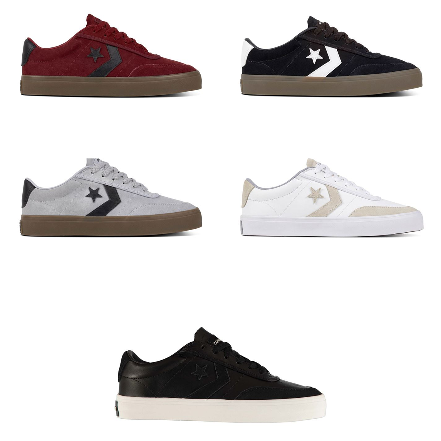 Details about Converse Courtland Trainers Mens Athleisure Footwear Shoes Sneakers