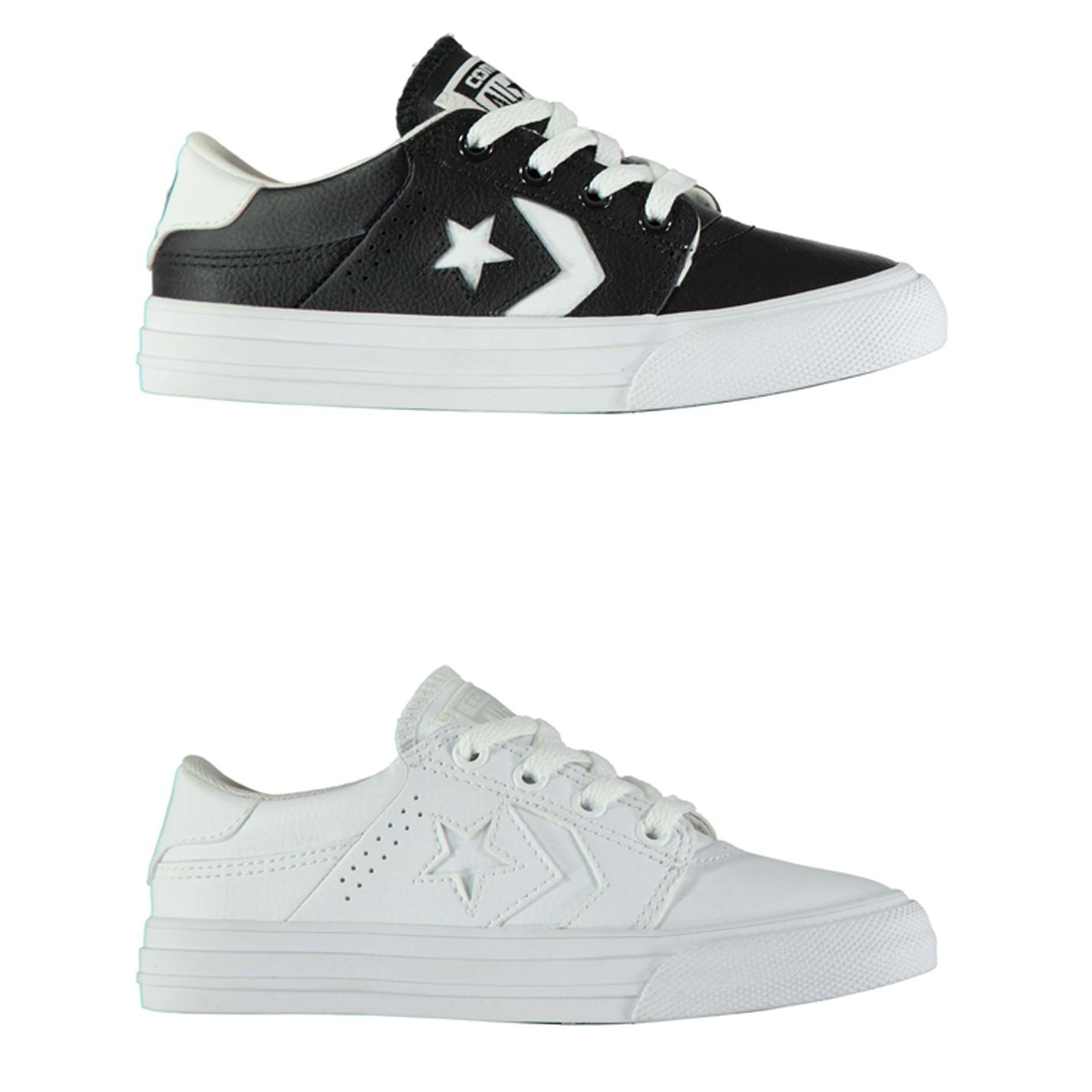 Details about Converse Tre Star AC Trainers Boys Shoes Footwear