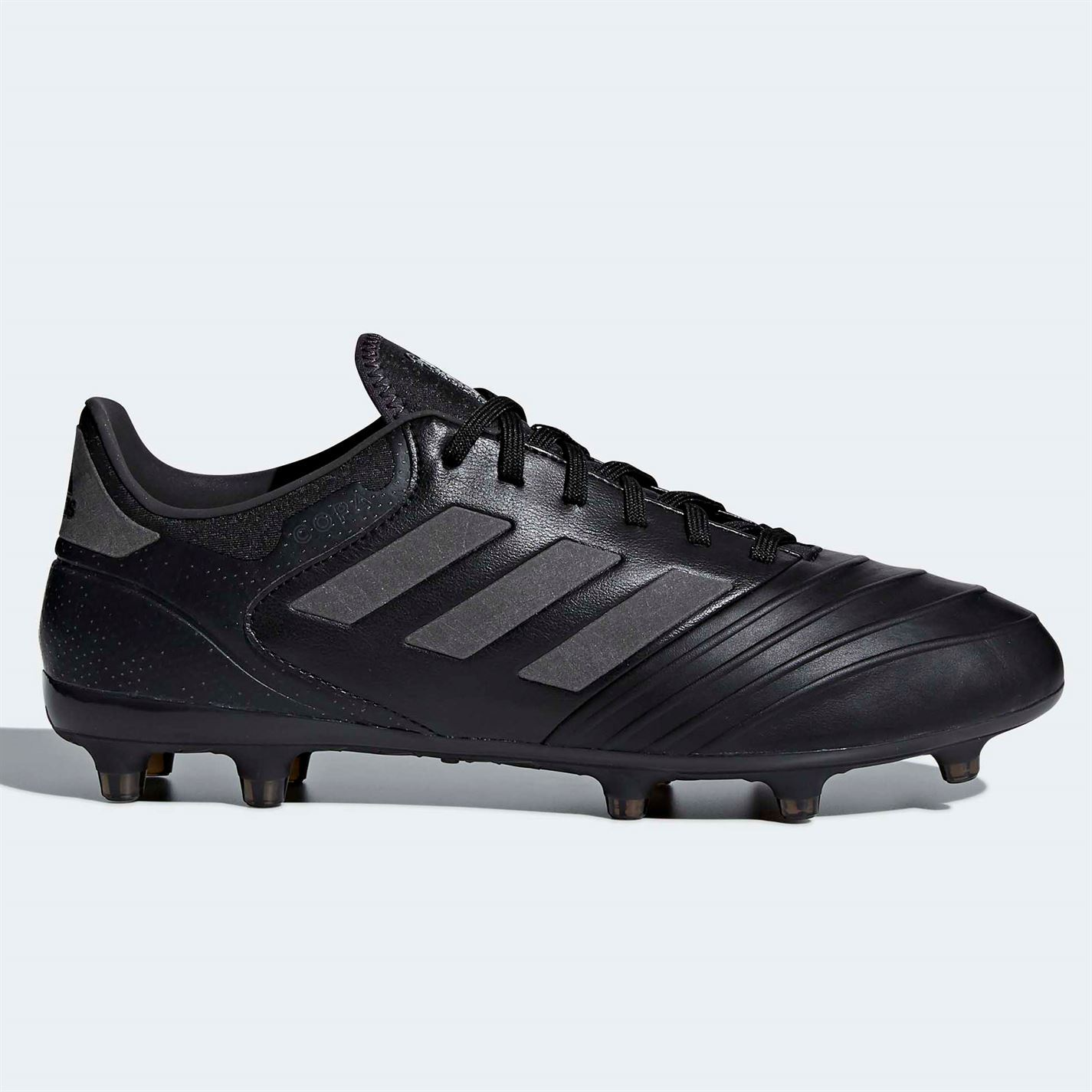 b8faff730 adidas Copa 18.2 FG Firm Ground Football Boots Mens Black Soccer Shoes  Cleats