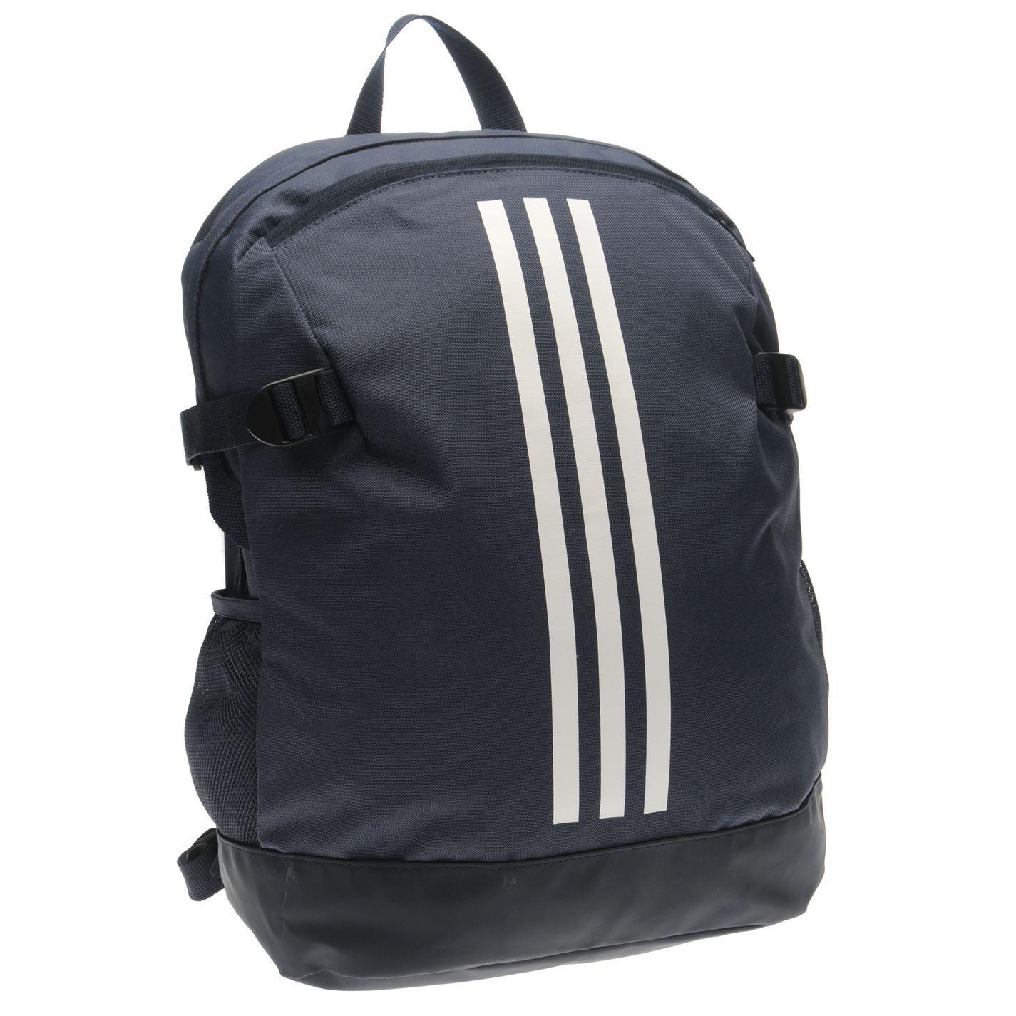 2014607f71 ... Adidas Power 4 mochila azul marino blanco deportes bolsa bolsa mochila  ...