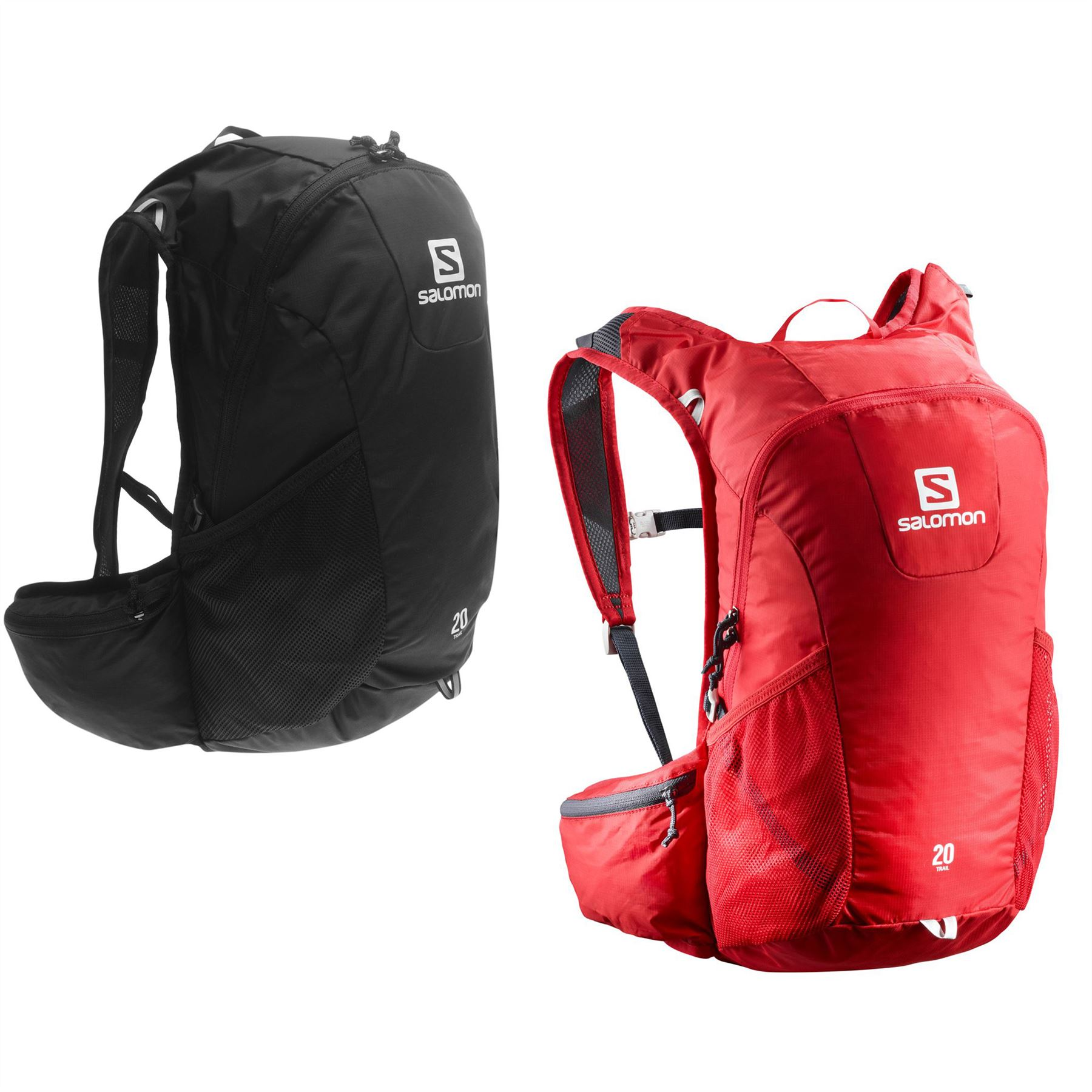 code promo 13650 cda86 Details about Salomon Trail 20 Backpack Rucksack Daypack Bag