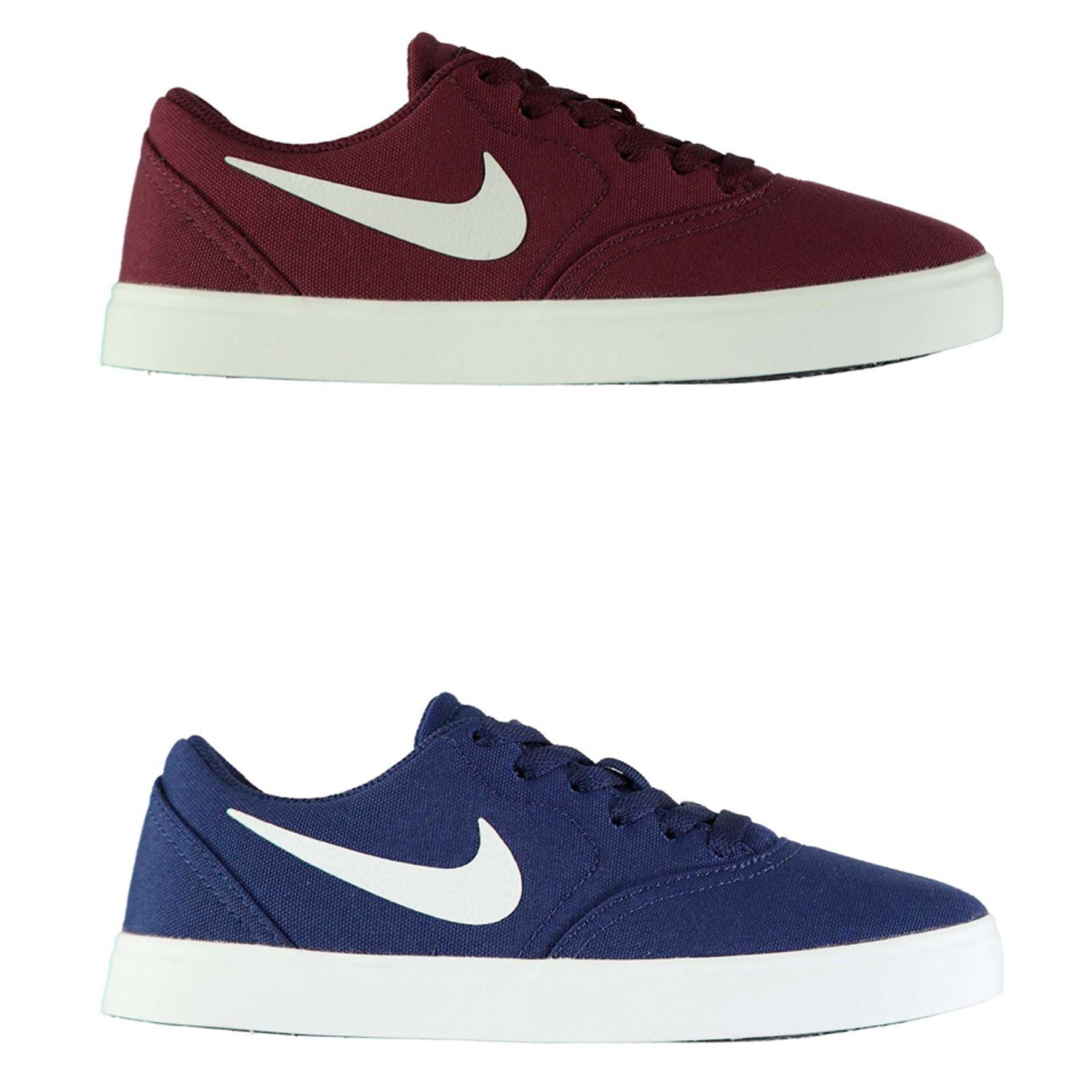 info for 34918 78e48 ... Nike SB Check Canvas Skate Shoes Junior Boys Trainers Footwear ...