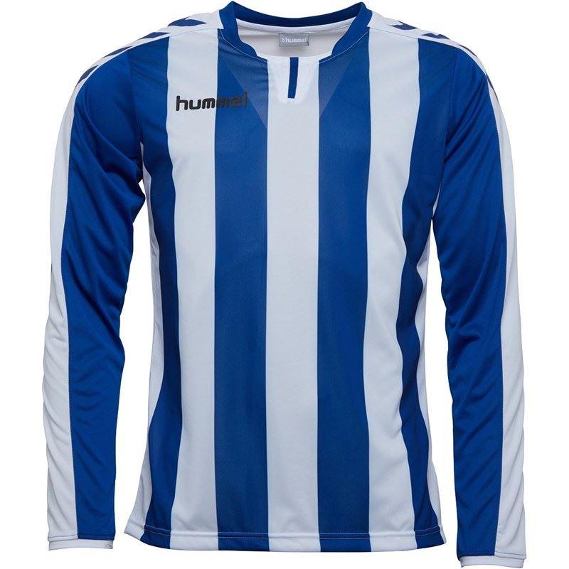 thumbnail 10 - Hummel-Long-Sleeve-Football-Shirt-Mens-Soccer-Jersey-Top-T-Shirt