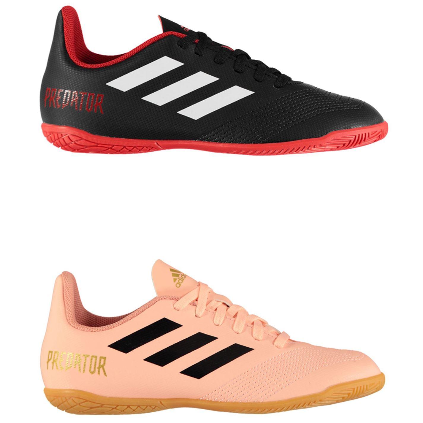 c3d88daeb016 ... adidas Predator Tango 18.4 Indoor Football Trainers Juniors Soccer Shoes  ...