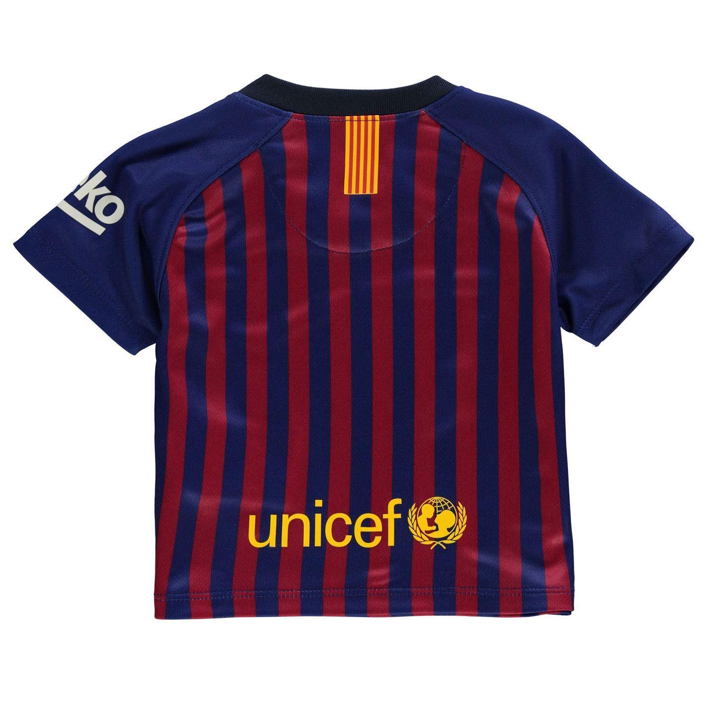 ... Nike Barcelona Home Baby Kit 2018 2019 Infants Blue Football Soccer  Strip baabe4896