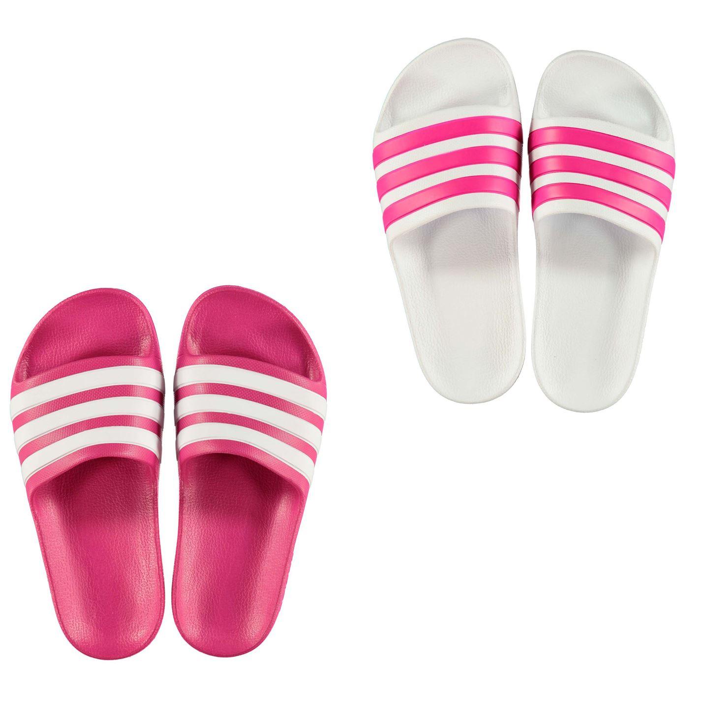 Dettagli su Adidas Duramo Scivolosi Scarpe da Piscina Juniors Ragazze Sandalo Infradito Mare