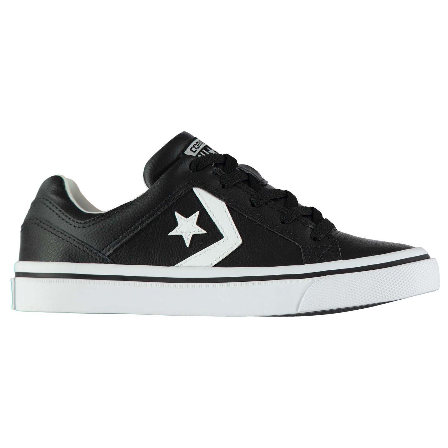 c655b1f10 ... Converse Distrito Zapatillas De Cuero Zapatos Niños Calzado