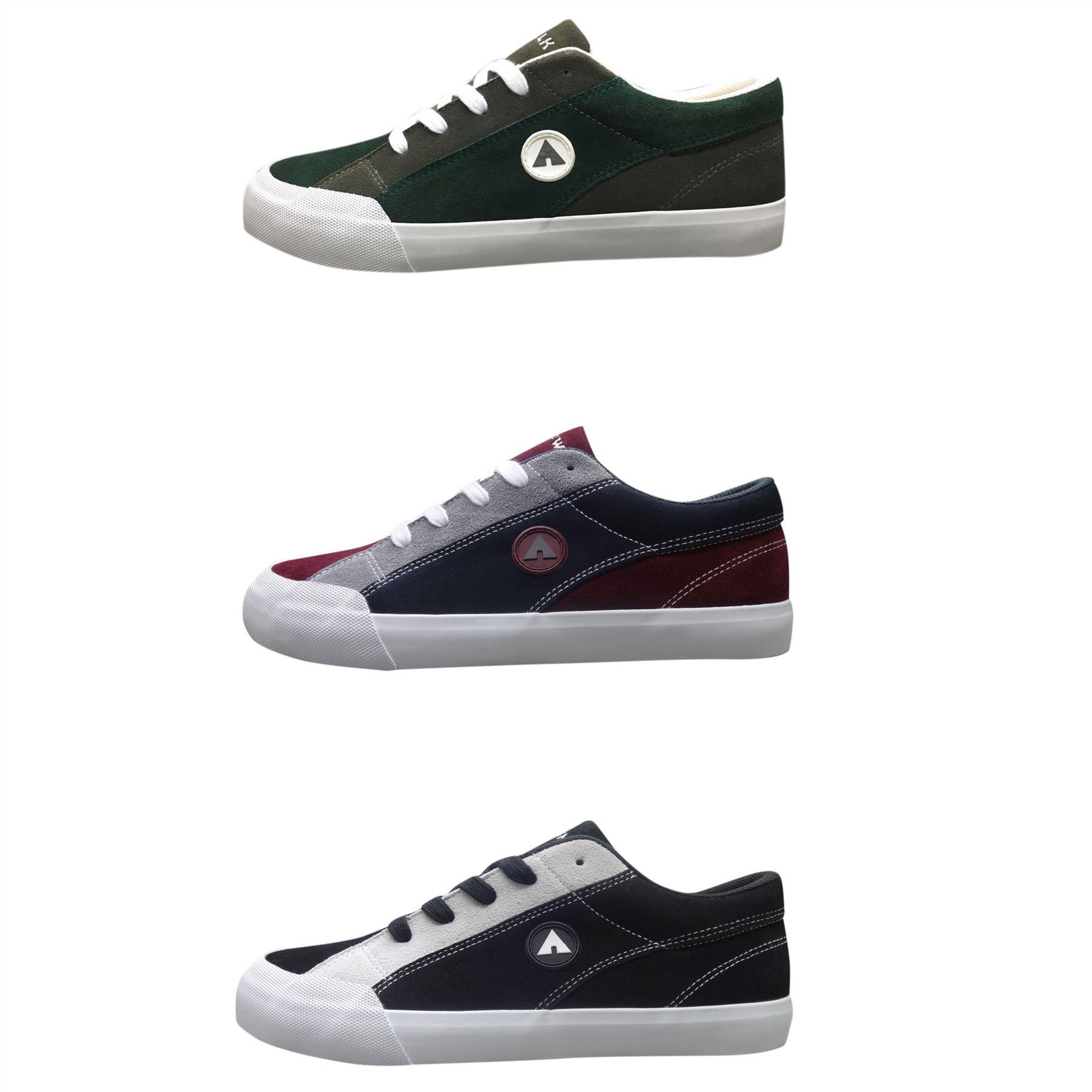 9a114ada9 Airwalk Skate Shoes Mens Skateboarding Trainers Footwear