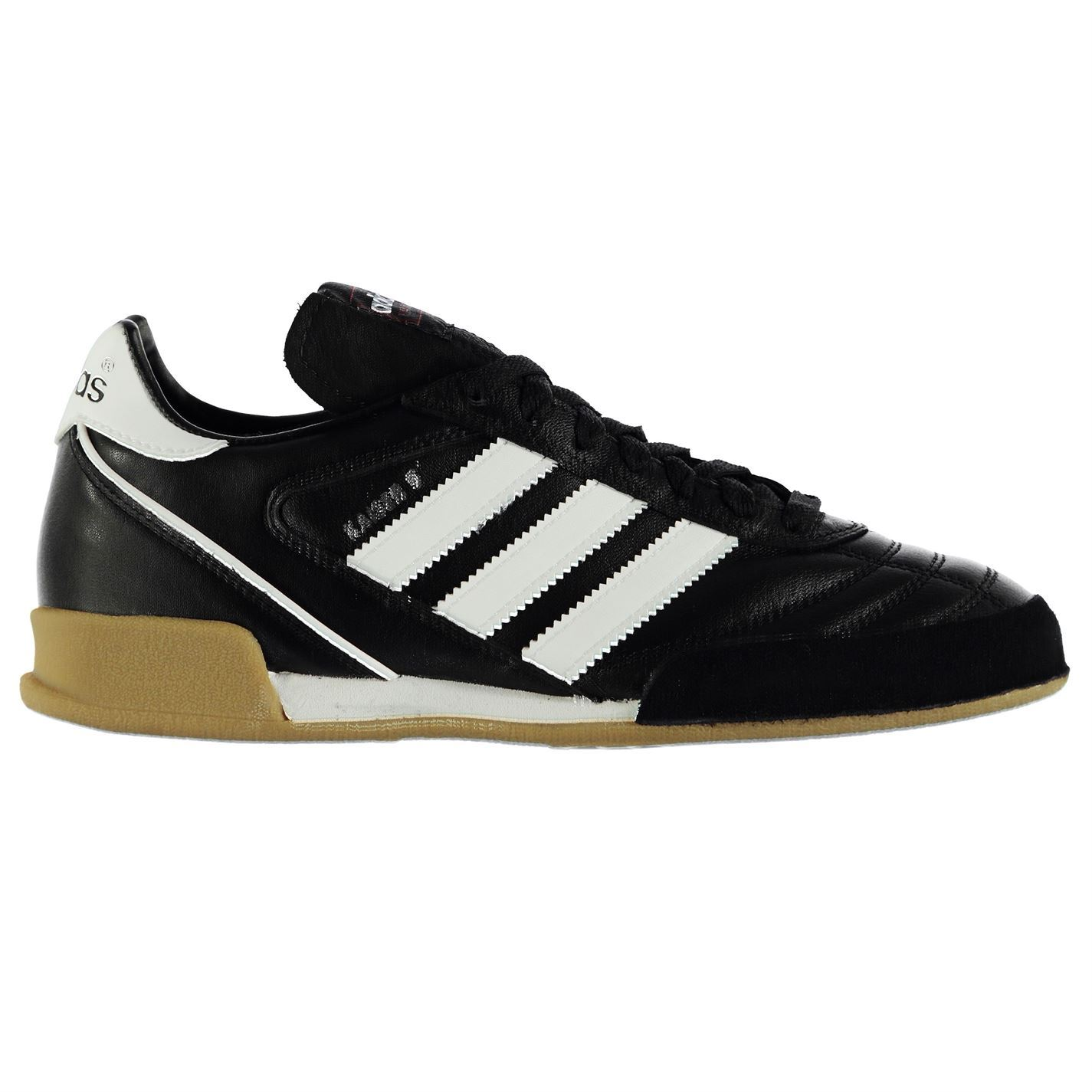 adidas Kaiser Goal Indoor Trainers Mens Bk//Wh Football Soccer Fusbal Shoes