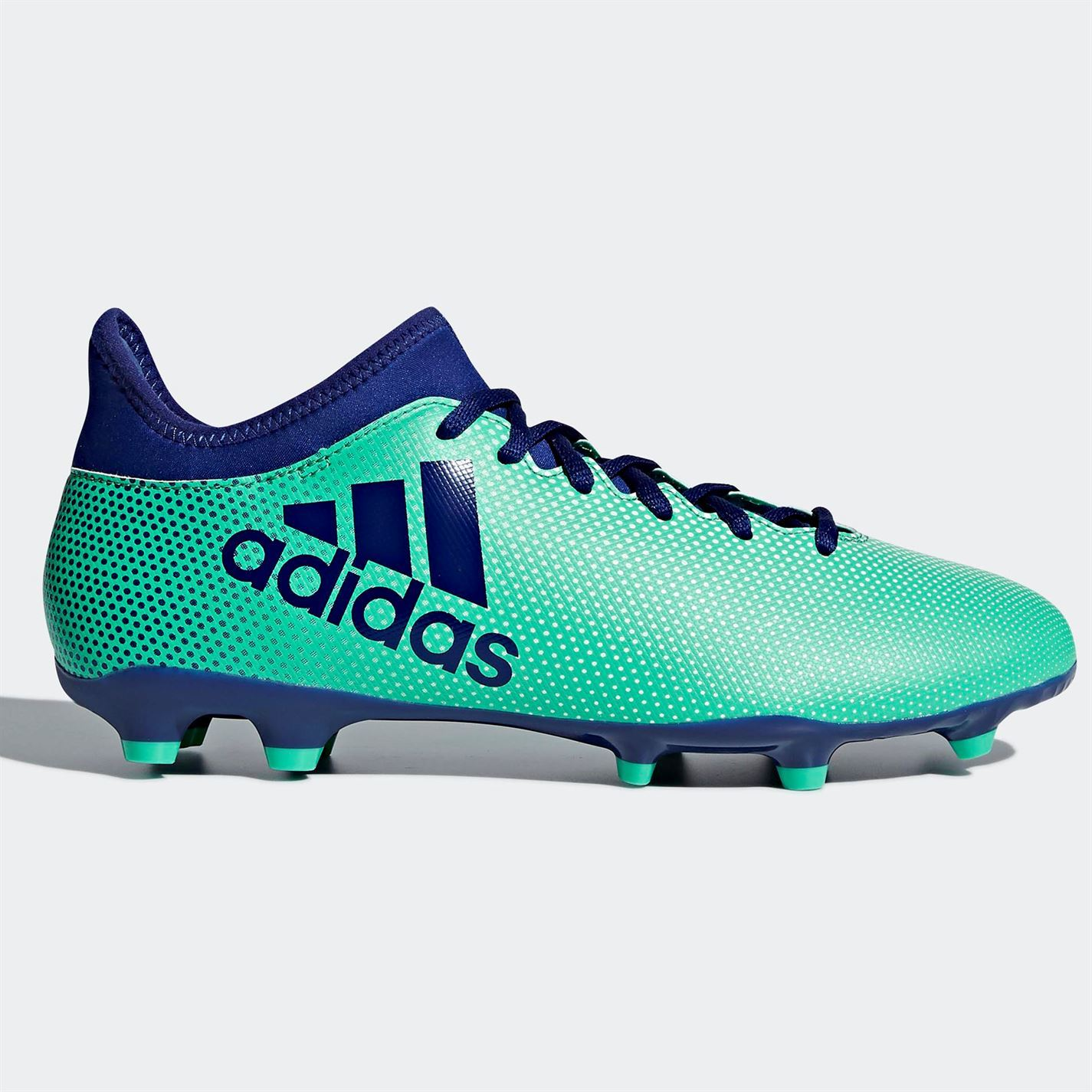 5931da12d69c8f ... adidas X 17.3 FG Firm Ground Football Boots Mens Green Ink Soccer Shoes  Cleats ...