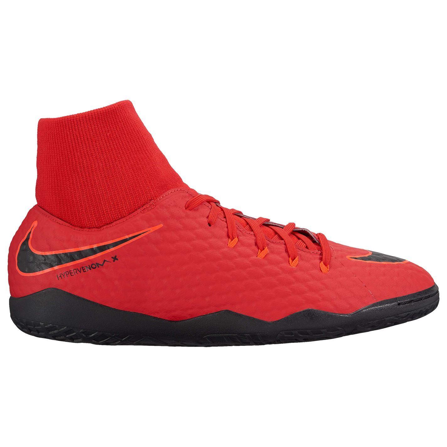 4dde3c18a66a ... Nike Hypervenom Phelon DF Indoor Football Trainers Mens Red Soccer  Futsal Shoes ...