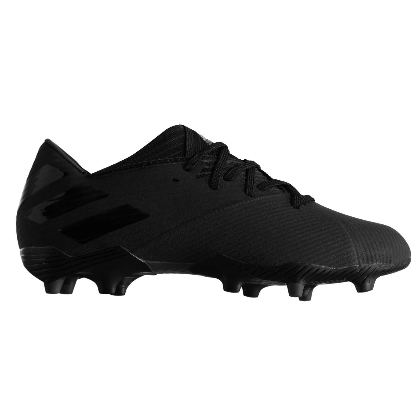 Adidas-nemeziz-19-2-Firm-Ground-FG-Chaussures-De-Football-Hommes-Soccer-Crampons-Chaussures miniature 3