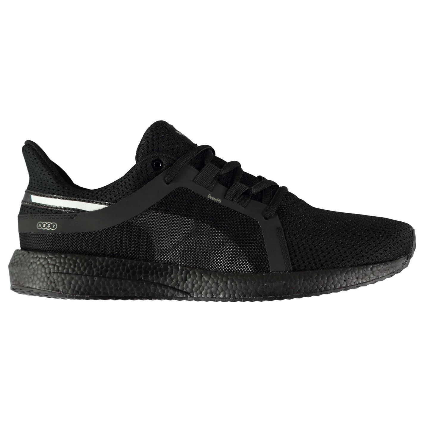 93f1e1075e70 ... Puma Mega NRGY Turbo Trainers Mens Black Sports Shoes Sneakers ...
