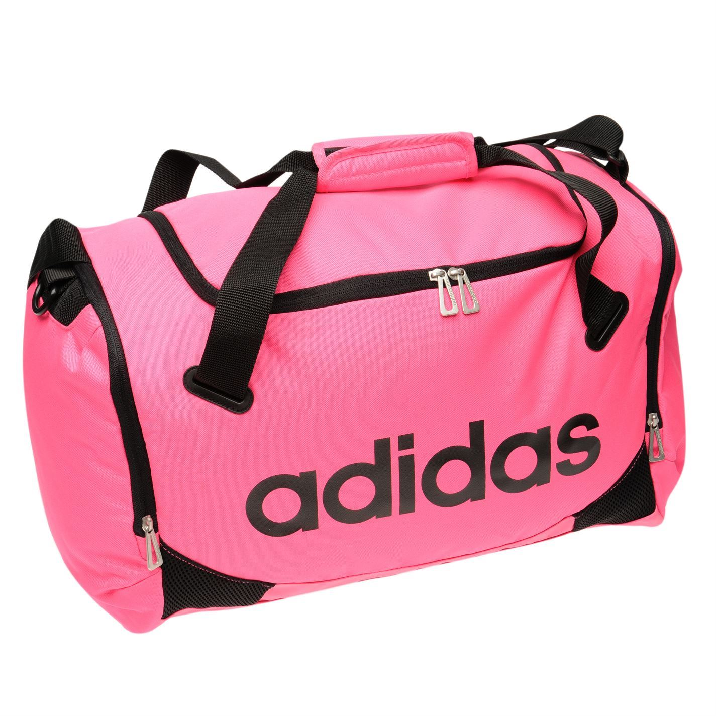 637a646930572 ... Adidas Lined Small Team Bag Pink Sports Gymbag Kitbag ...