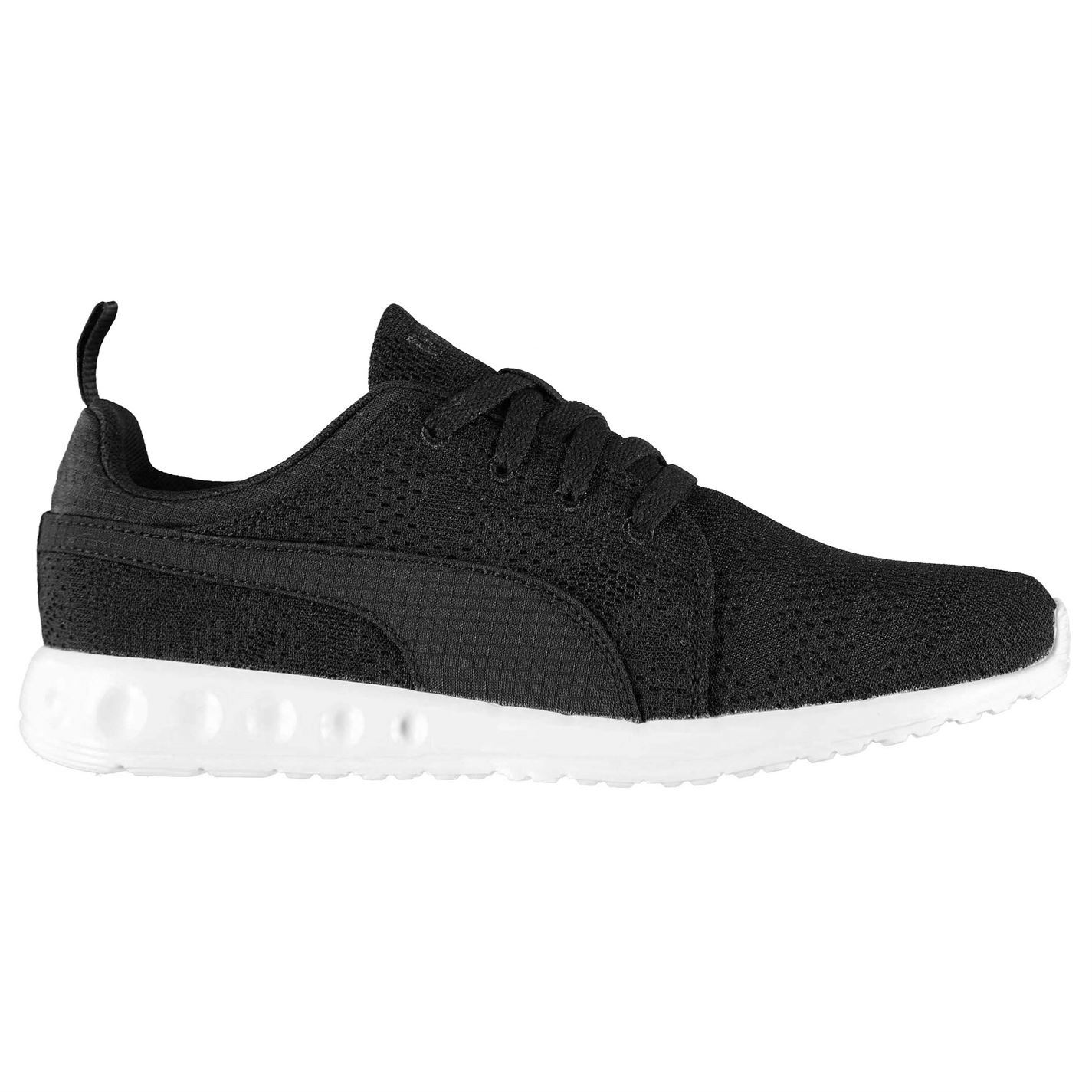 a1ba1277869 ... Puma Carson Running Shoes Mens Black White Jogging Trainers Sneakers ...