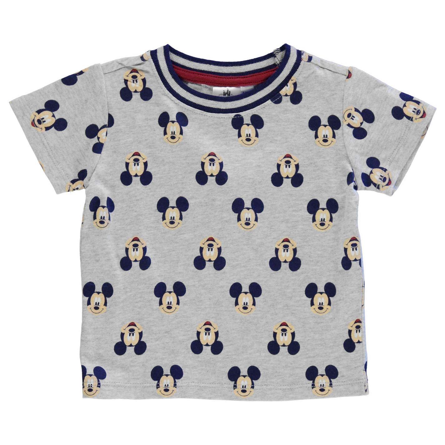 c87f1f97200c Disney Mickey Mouse 3 Piece Set Jogger Suit Infant Babies Blue Grey ...