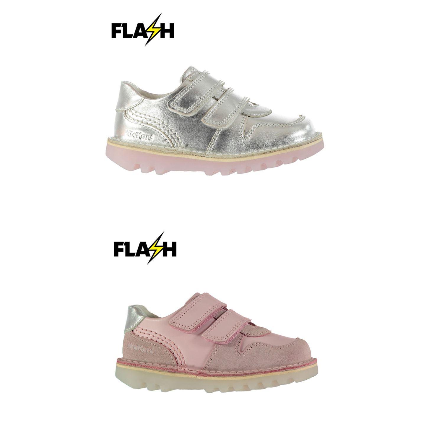90e2d008 ... Kickers Kick Glow V Shoes Girls Trainers Footwear ...