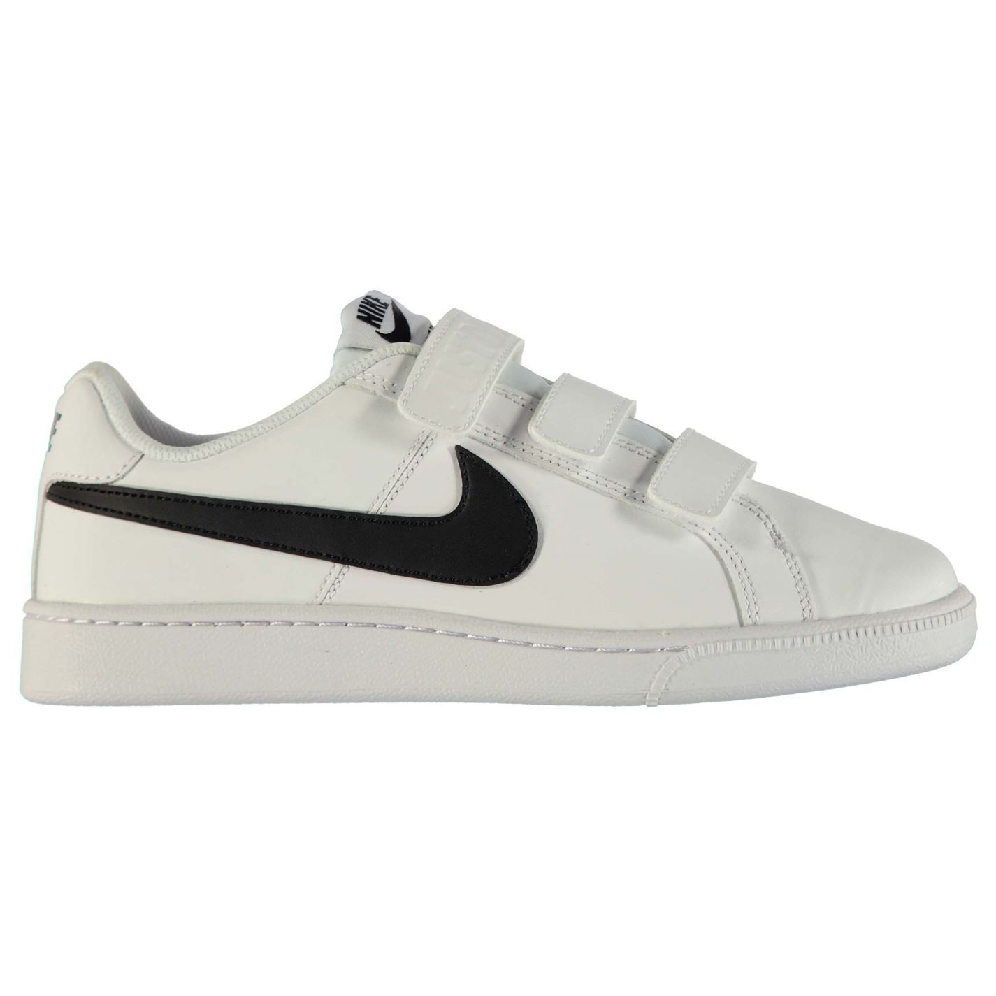 ... Nike Court Royale Trainers Mens White/Black Sports Shoes Sneakers  Footwear ...