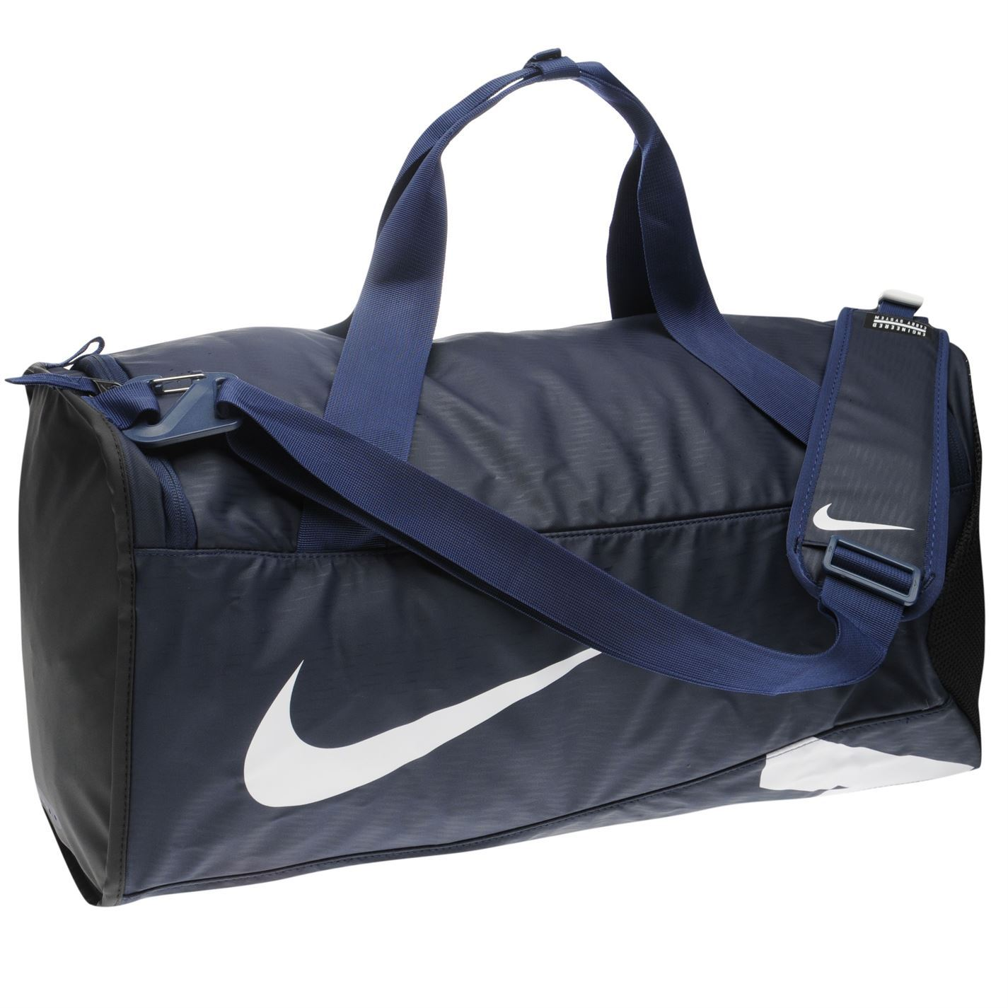 pretty nice 2b687 423e5 ... Nike Alpha Adapt Cross Body Duffel Bag Navy Blk Sports Gym Bag Holdall  Carryall ...