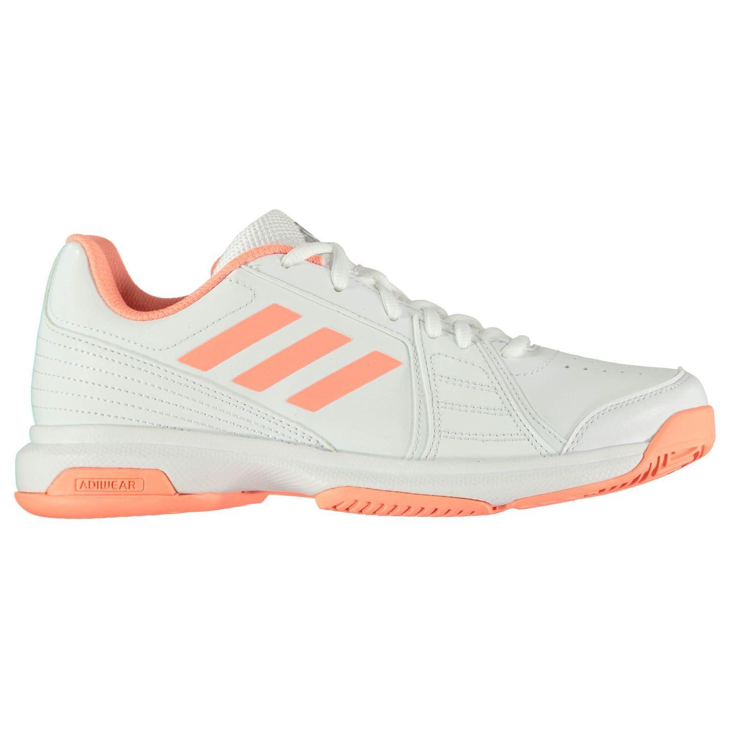 Brand Adidas Barricade Aspire Ladies Tennis Shoes White