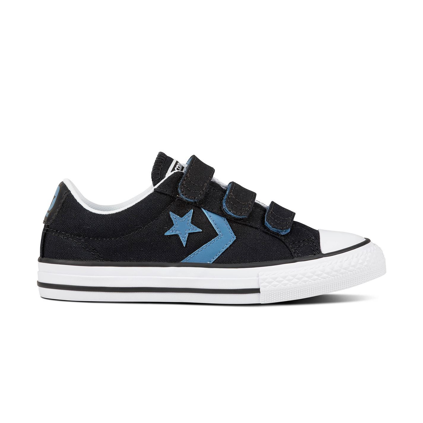 Details about Converse Star Player V Shoes Boys Black Trainers Footwear