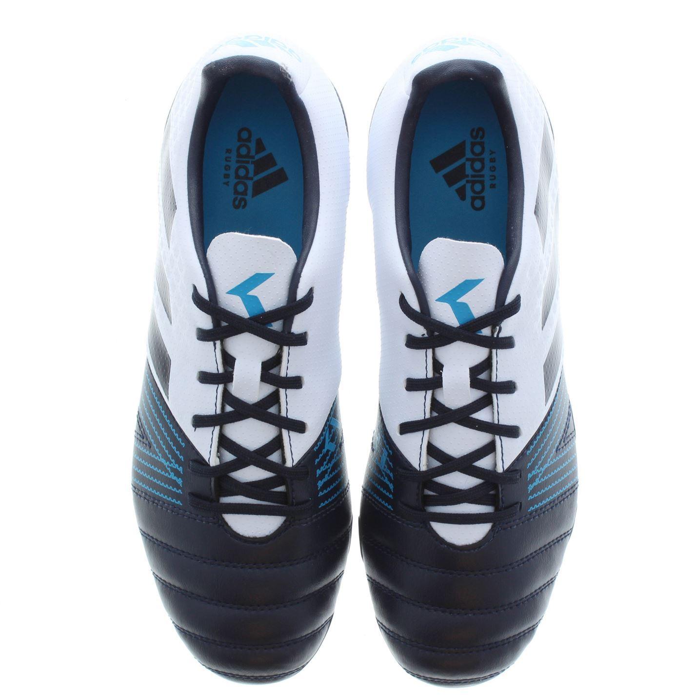 66cee973 adidas Kakari SG Mens Rugby Union Boots Blue Trainers Footwear   eBay