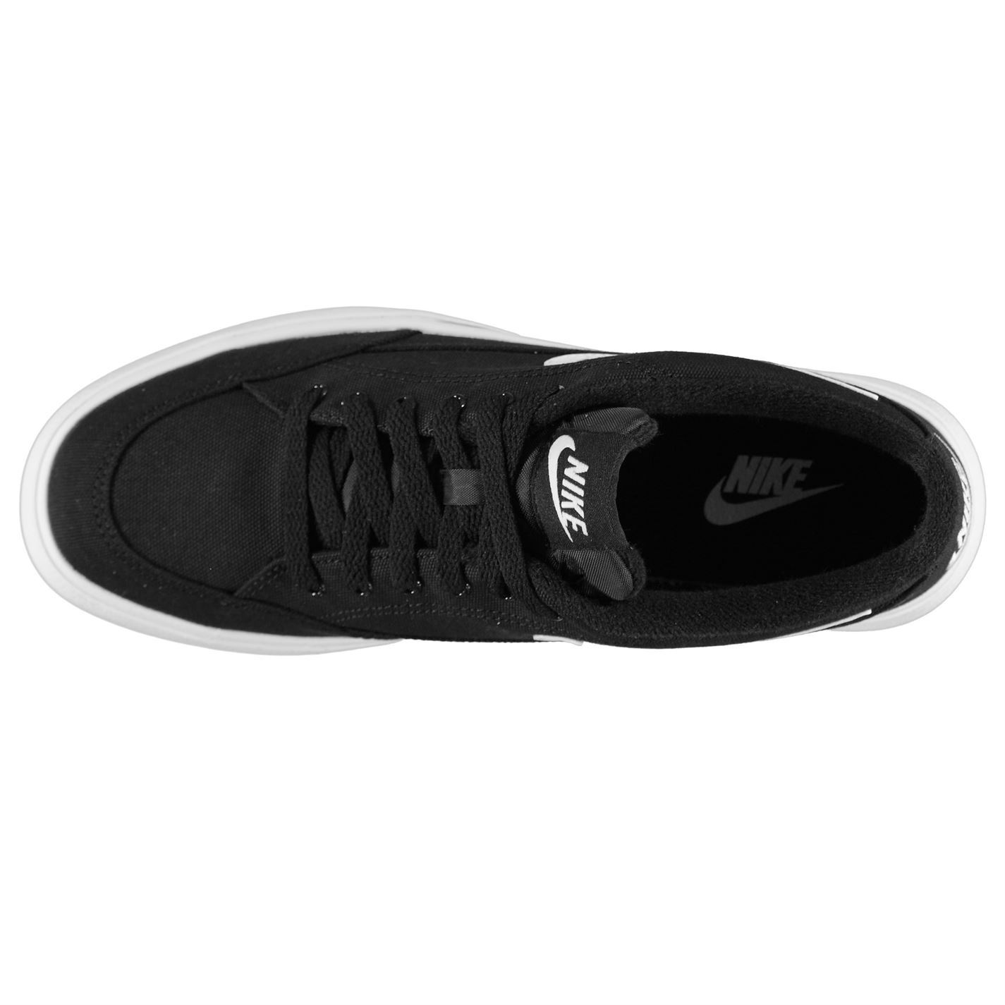 95df9e324a96 ... Nike GTS 16 Canvas Shoes Mens Black Footwear Trainers Sneakers