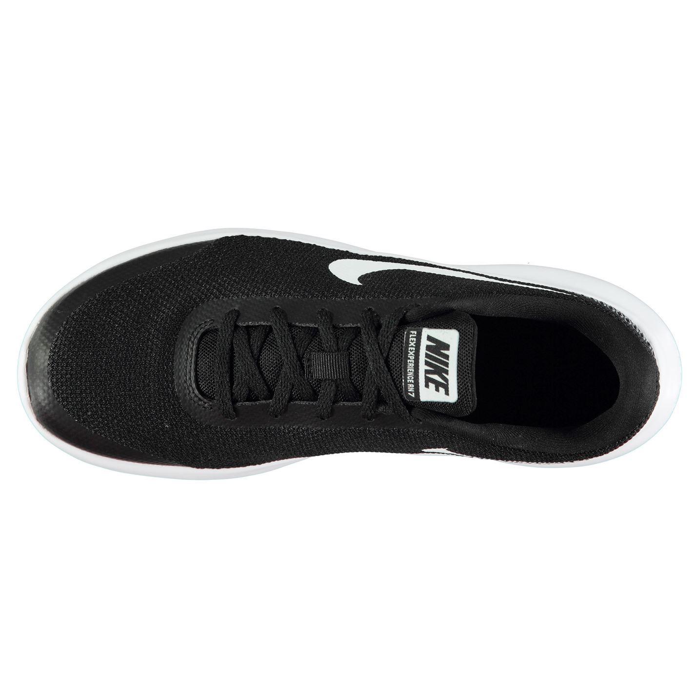902adb9adf2cc ... Nike Flex Experience 7 Trainers Mens Black White Athletic Sneakers Shoes