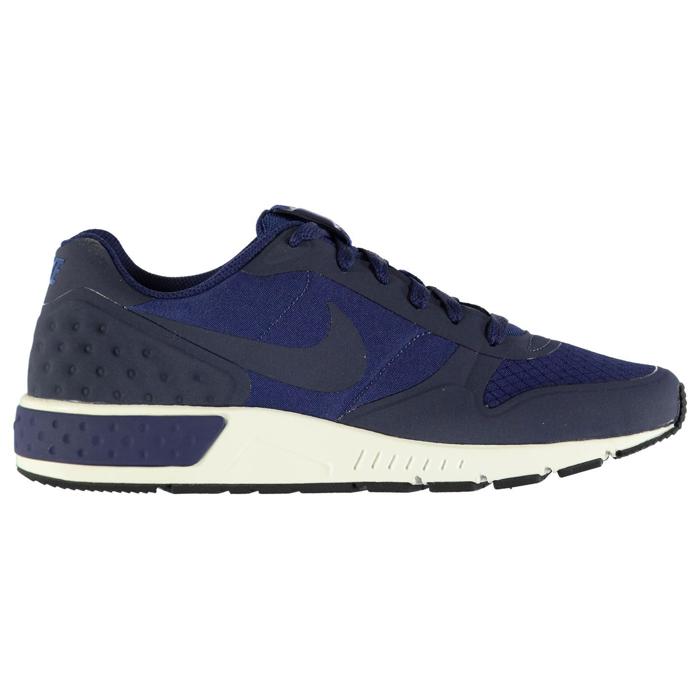 ... Nike Nightgazer Running Shoes Mens Blue/Navy Fitness Sports Trainers  Sneakers ...