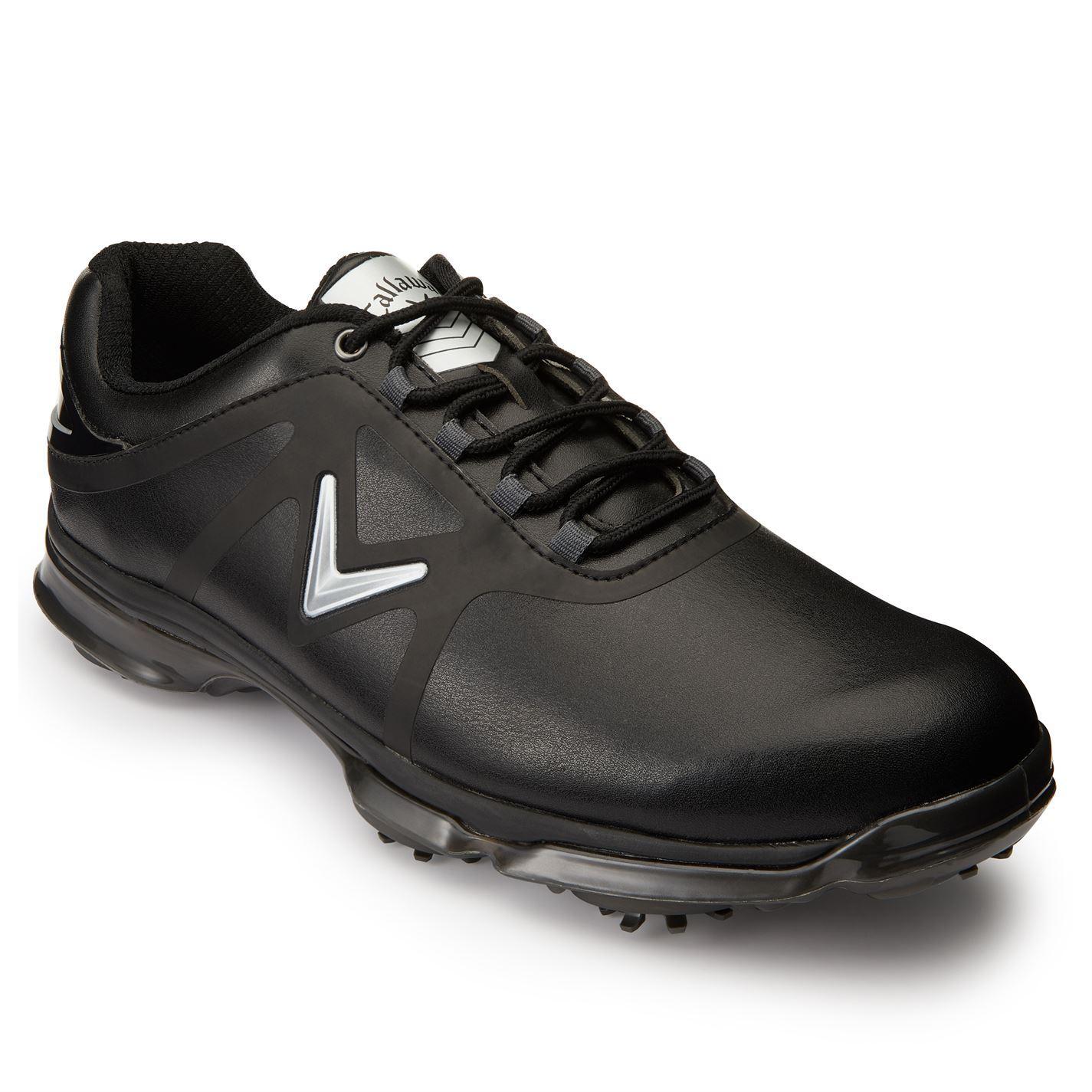 Callaway-XTT-Comfort-Spiked-Golf-Shoes-Mens-Spikes-Footwear thumbnail 3