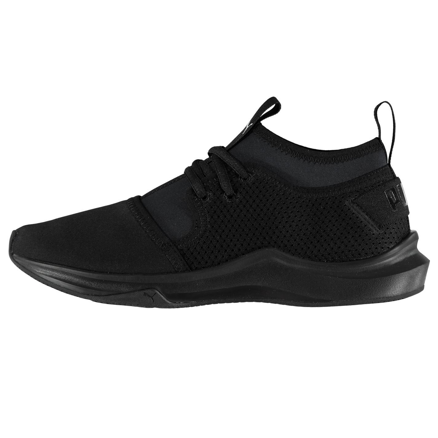fd29e0afb6d ... Puma Phenom Running Shoes Womens Black Run Jogging Trainers Sneakers ...