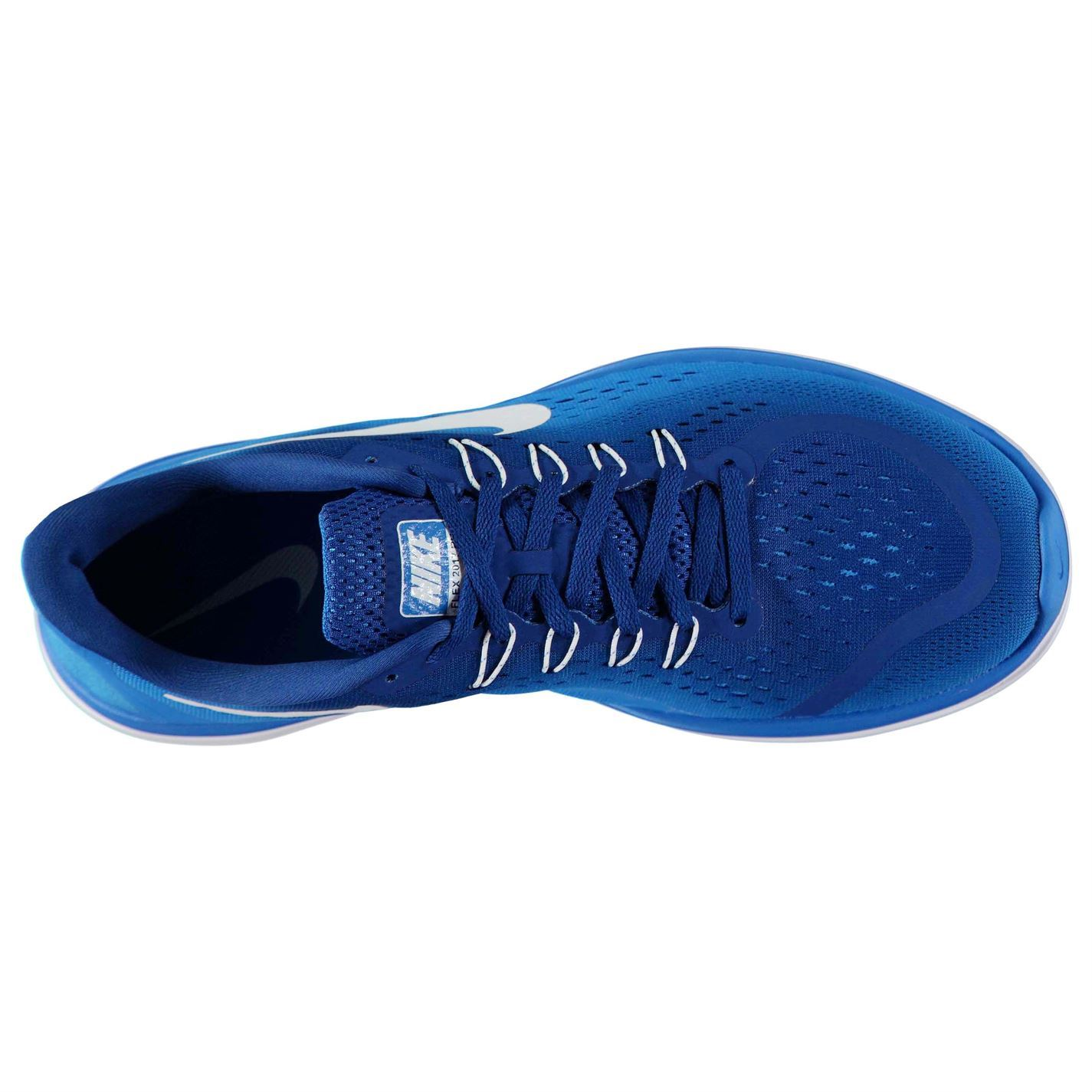 lowest price 21942 77291 ... Nike Flex 2017 Run Running Shoes Mens Blue White Jogging Trainers  Sneakers
