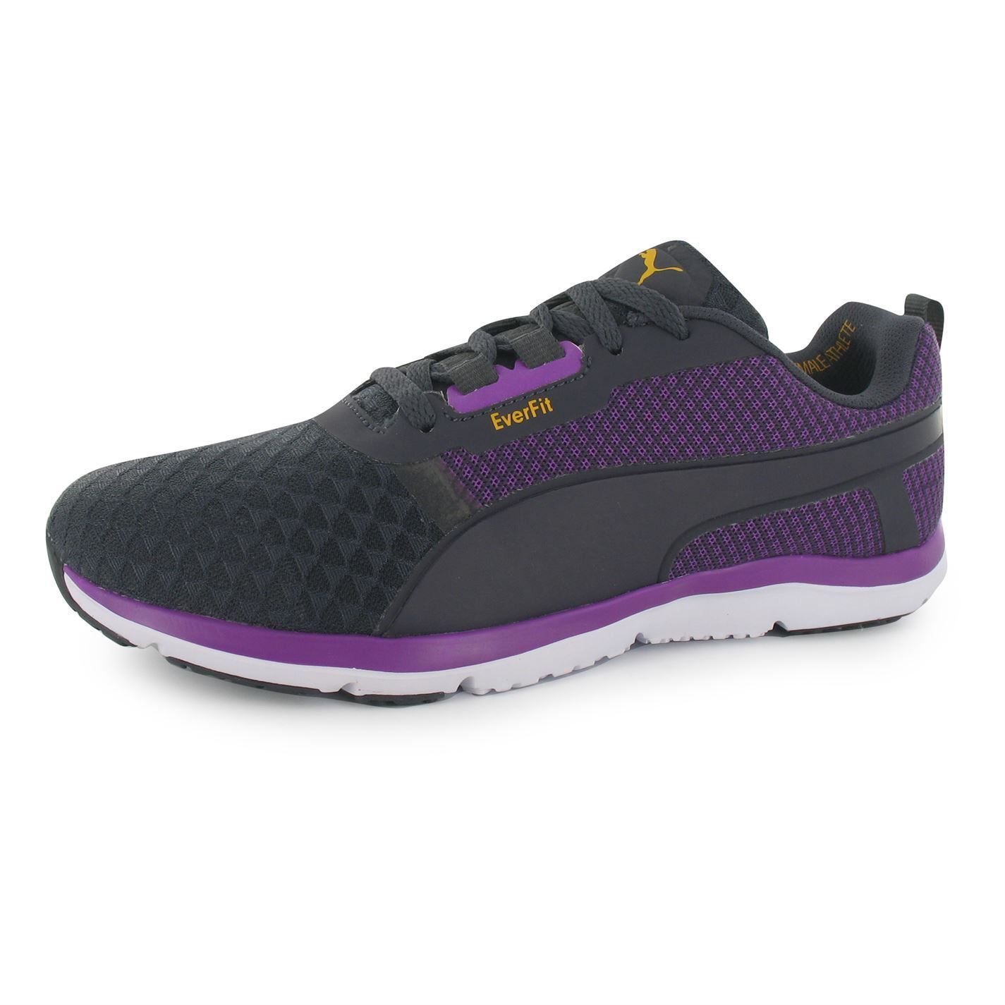 1a67c249200 ... Puma Pulse Flex XT EverFit Running Shoes Womens Grey Purple Trainers  Sneakers ...