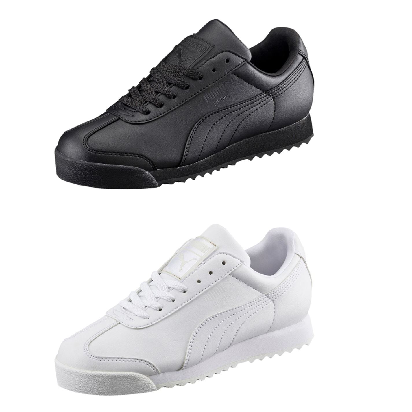 Details about Puma Roma Basic Trainers Juniors Boys Shoes Sneakers Kids  Footwear