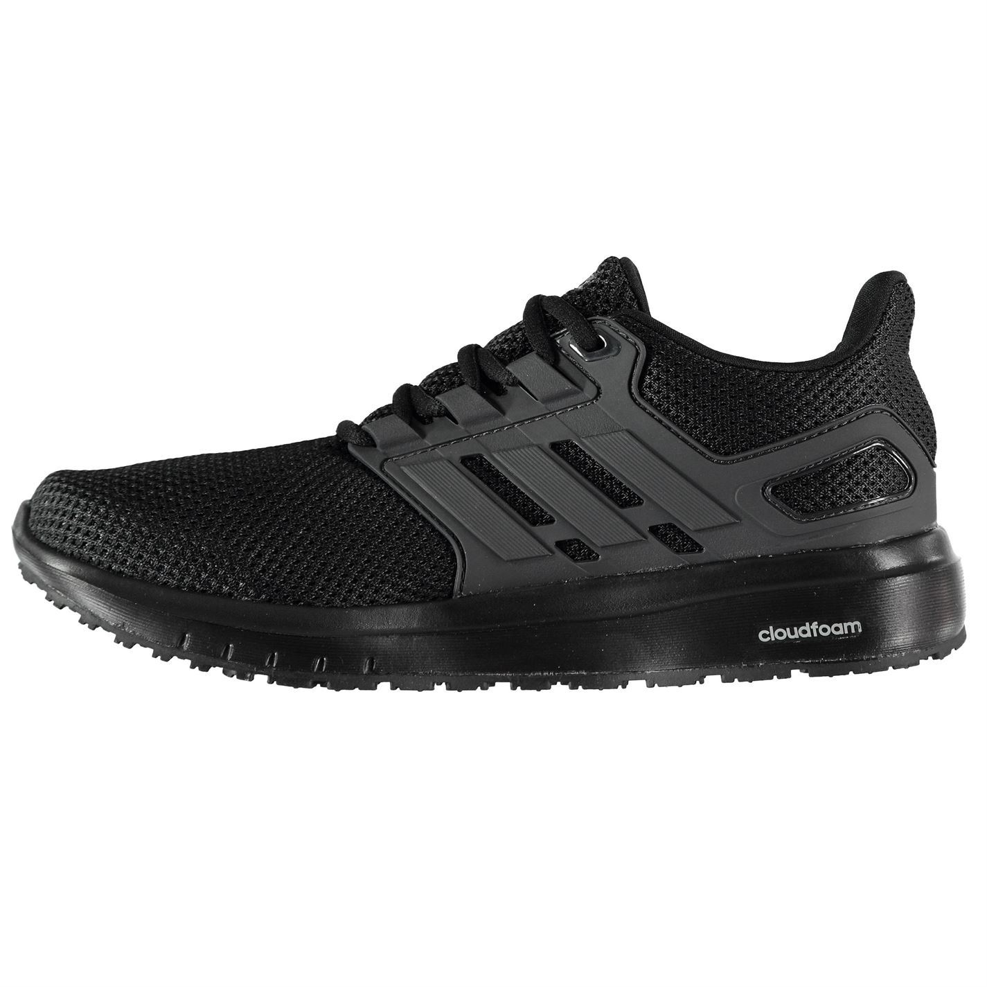 eba924d8 adidas Energy Cloud 2 Running Shoes Mens Black Jogging Trainers Sneakers