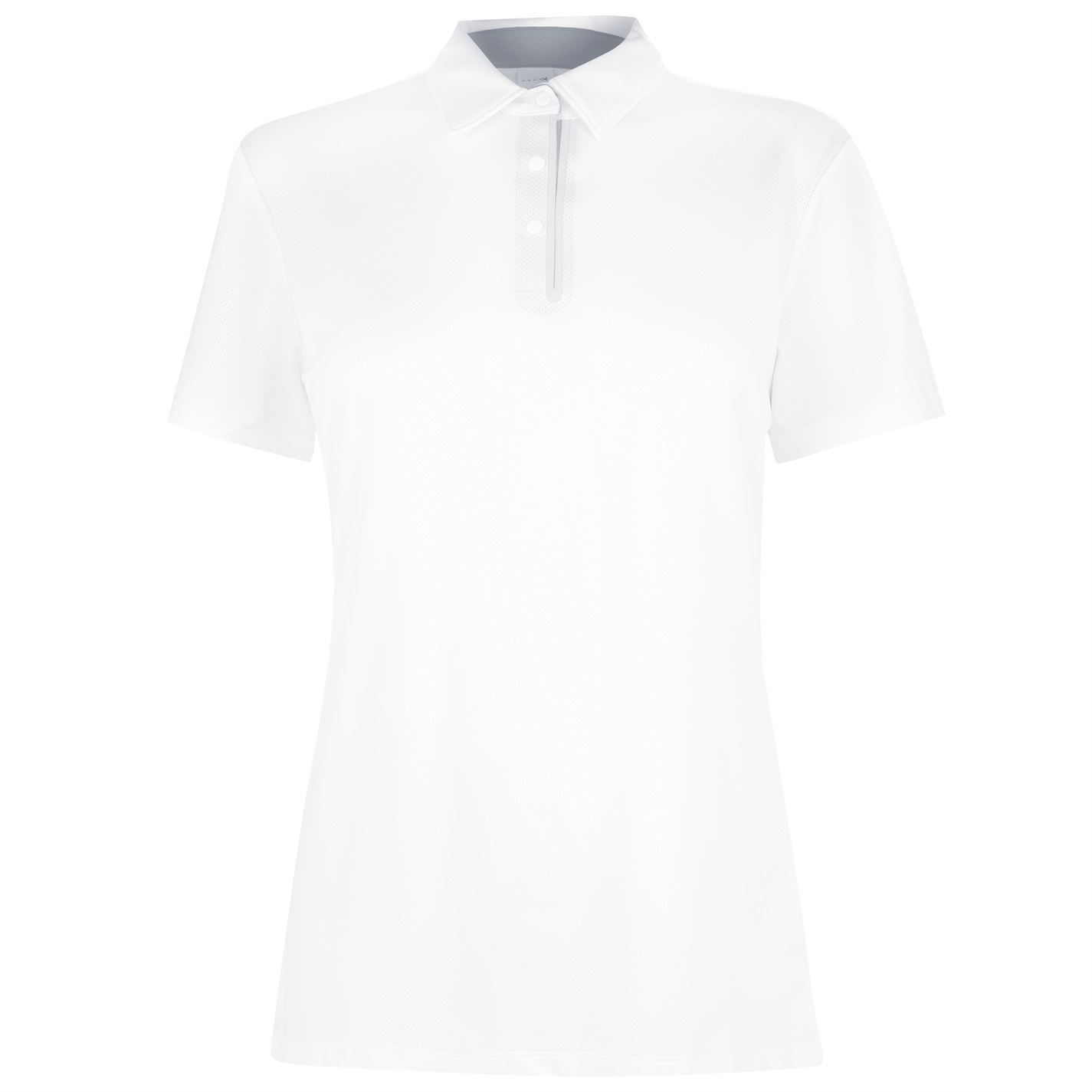 Skechers Pitch Polo Shirt Womens White