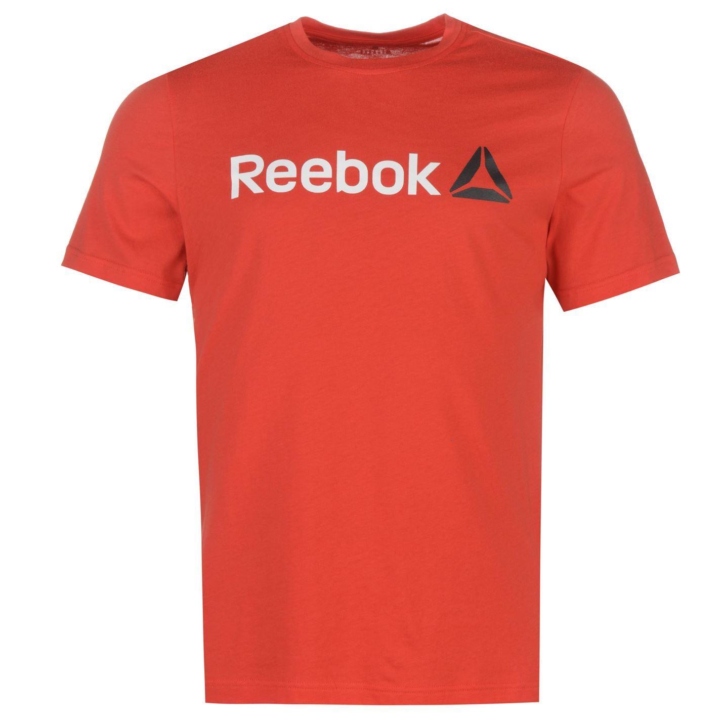 Reebok-Delta-Logo-T-Shirt-Mens-Tee-Shirt-Top thumbnail 32