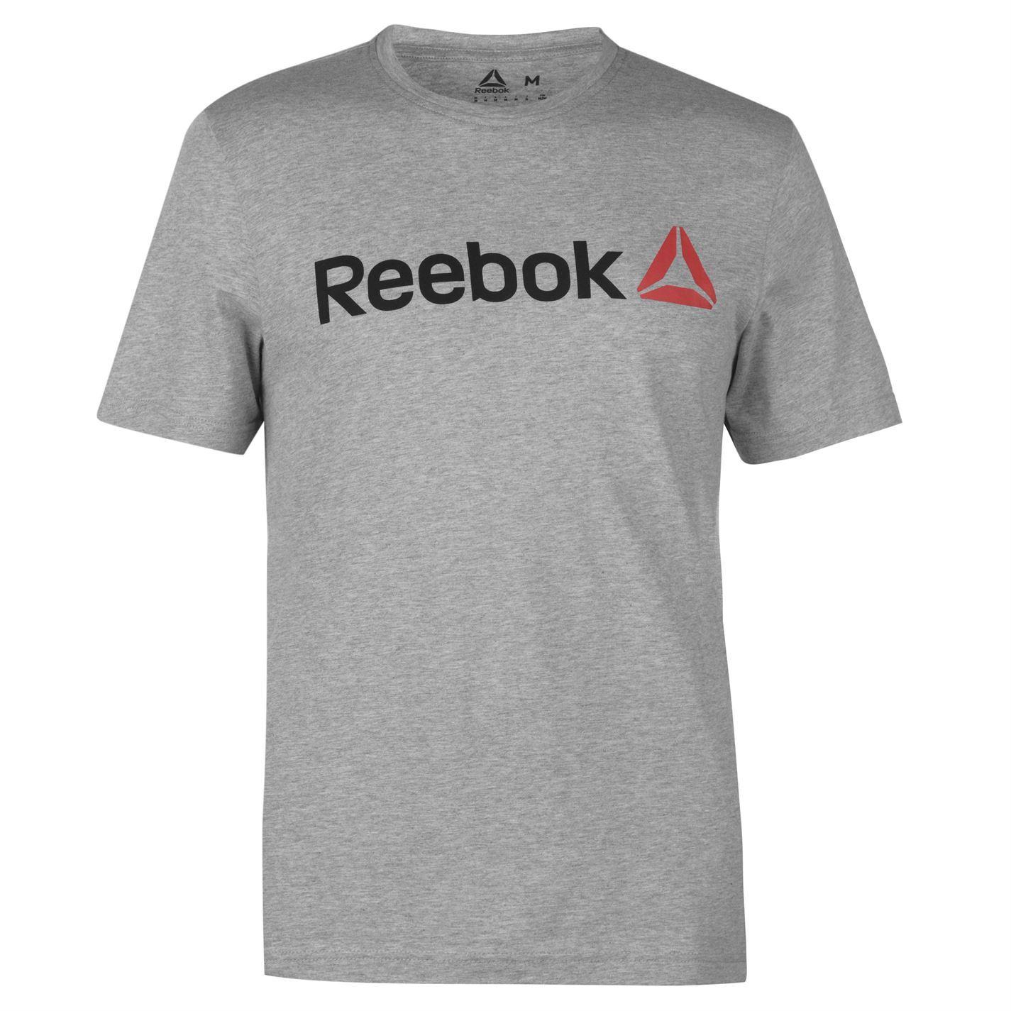 Reebok-Delta-Logo-T-Shirt-Mens-Tee-Shirt-Top thumbnail 23