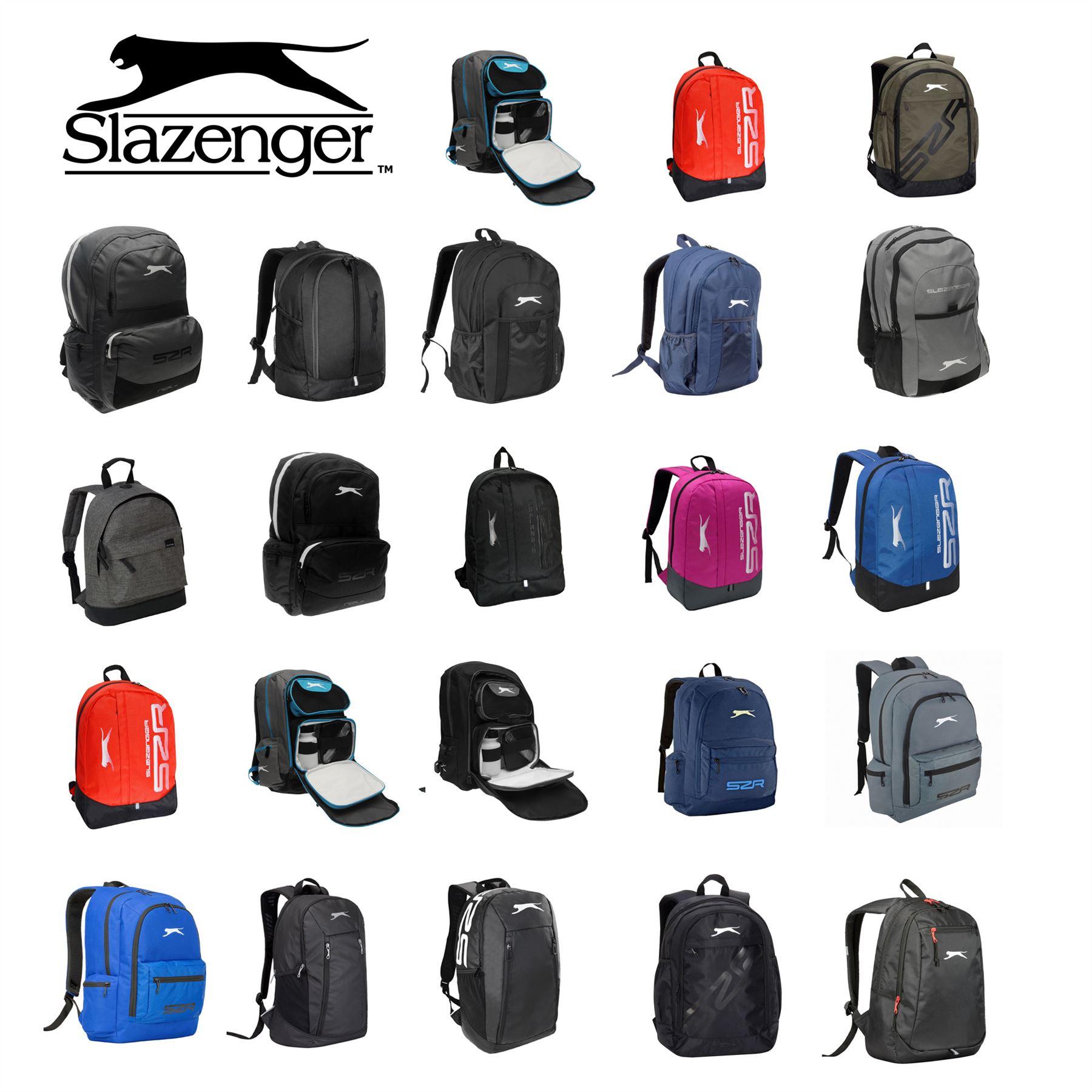 341820cfa7 Details about Slazenger Backpacks Rucksack Backpack Bag Daypack