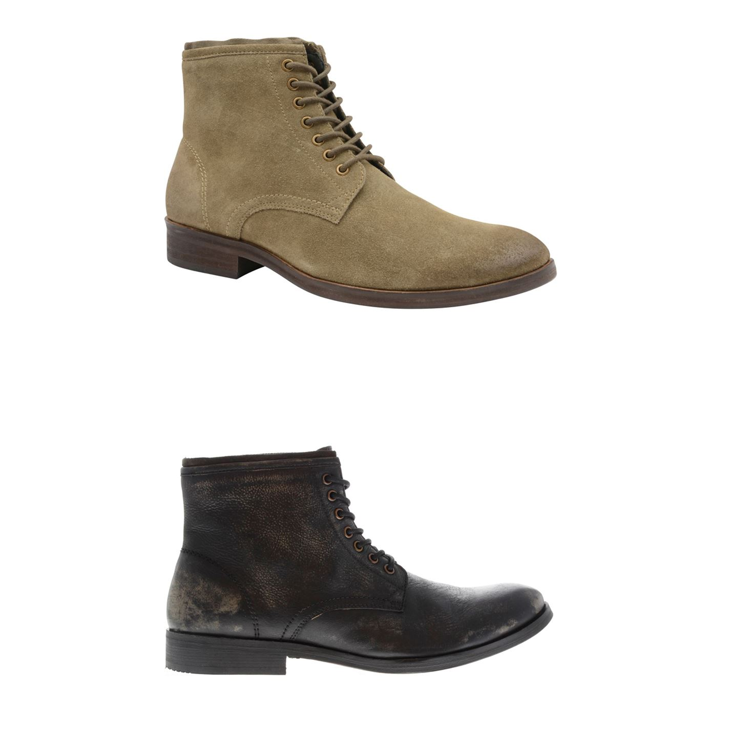 buy popular 38505 dadf6 Details about Frank Wright Clyde Ankle Boots Mens Shoes Footwear